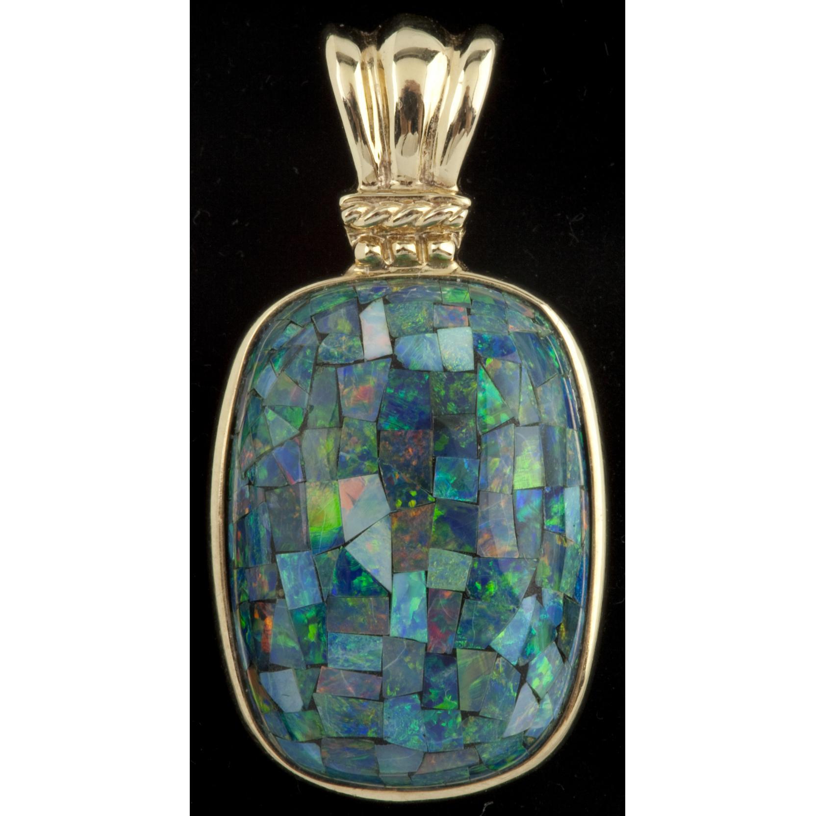 black-opal-mosaic-pendant