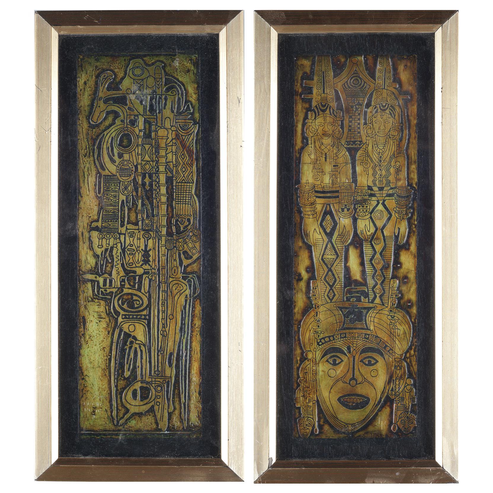 bruce-onobrakpeya-nigeria-b-1932-etchings
