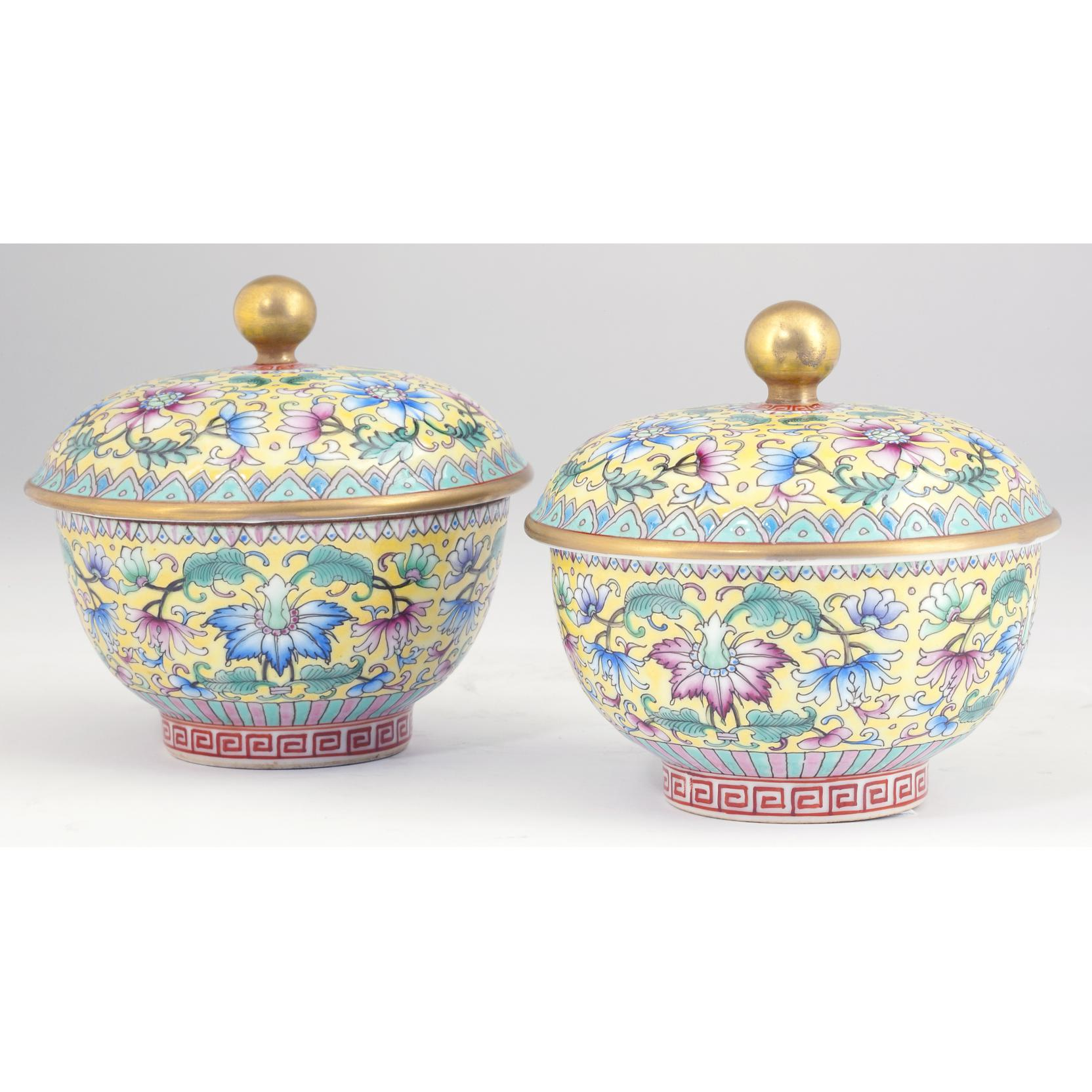 pair-of-chinese-famille-rose-lidded-bowls