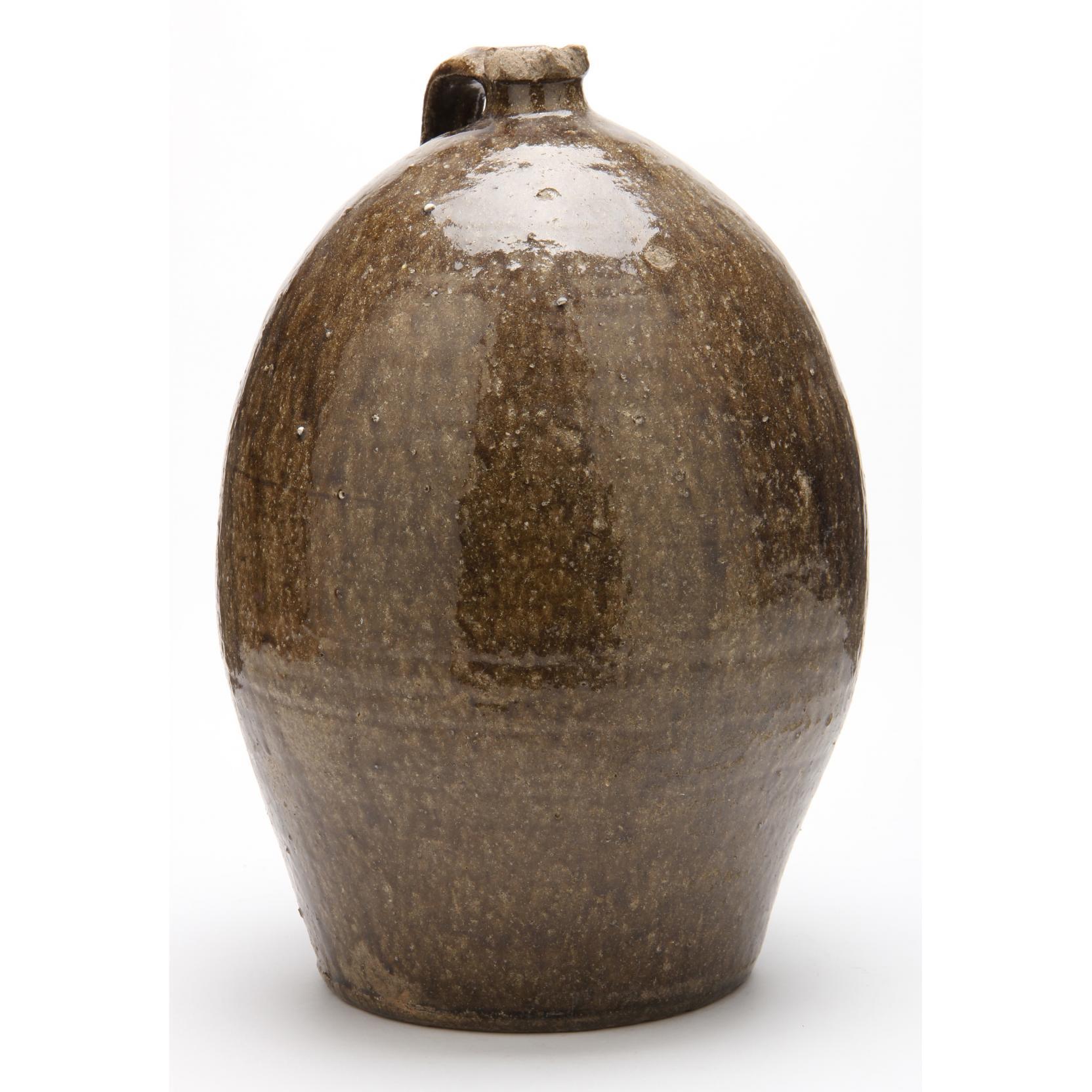 nc-pottery-three-gallon-jug-nelson-bass-1846-1918-lincoln-county