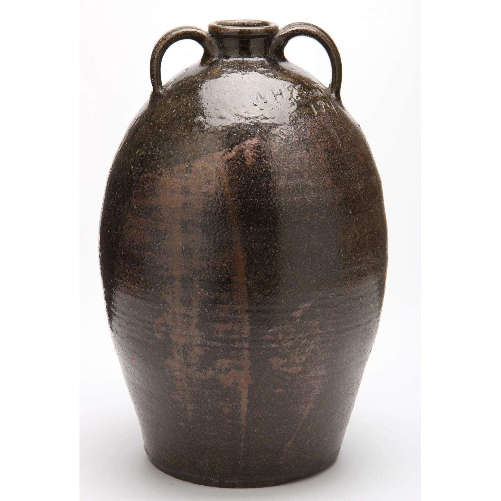 nc-pottery-molasses-jug-wade-smith-1855-1928-lincoln-county