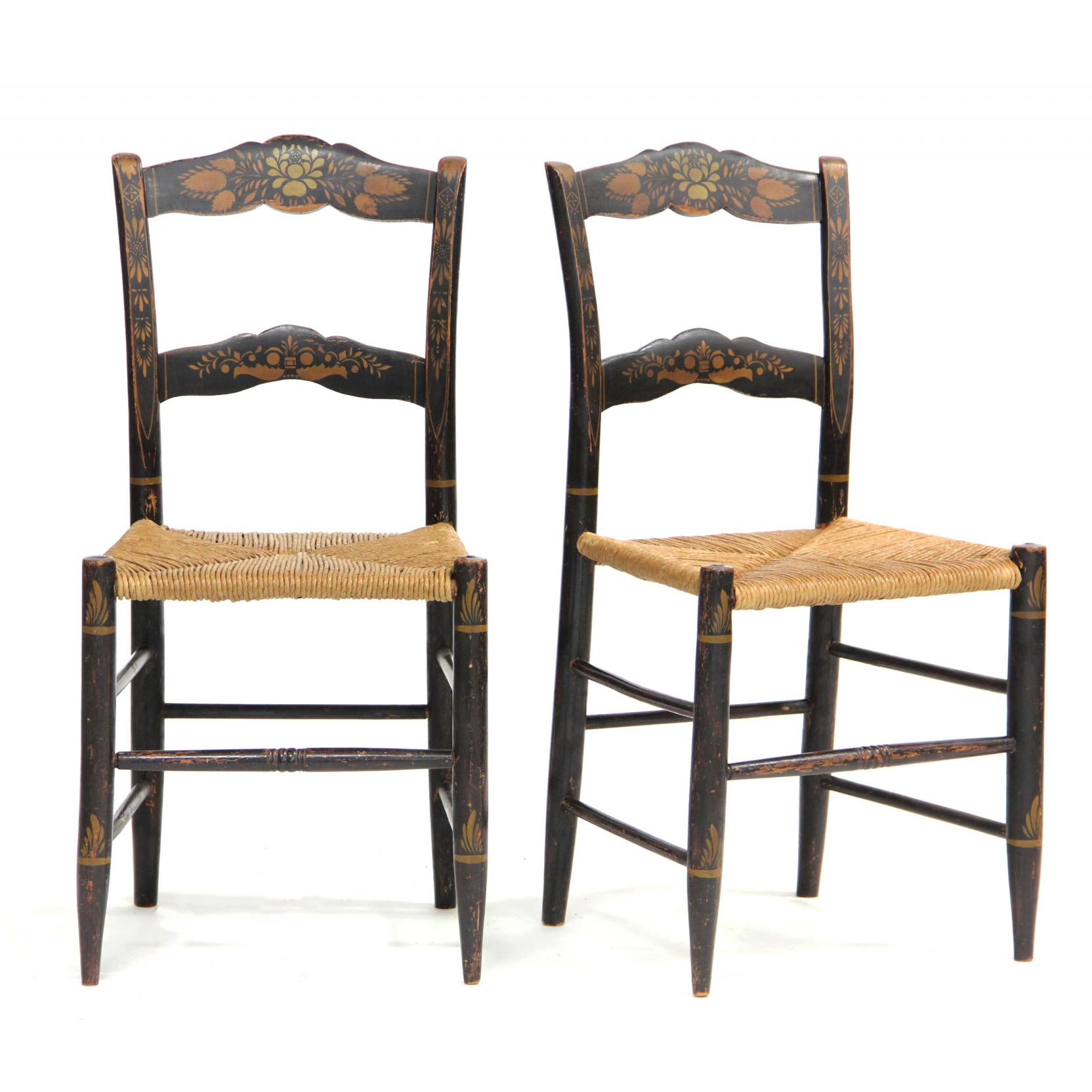 pair-of-painted-and-stenciled-side-chairs