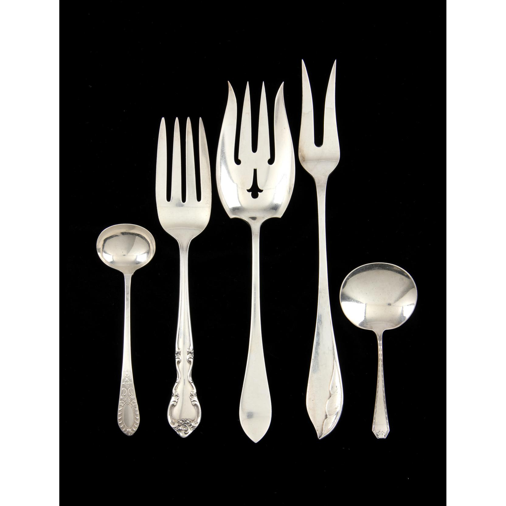 five-sterling-silver-serving-items