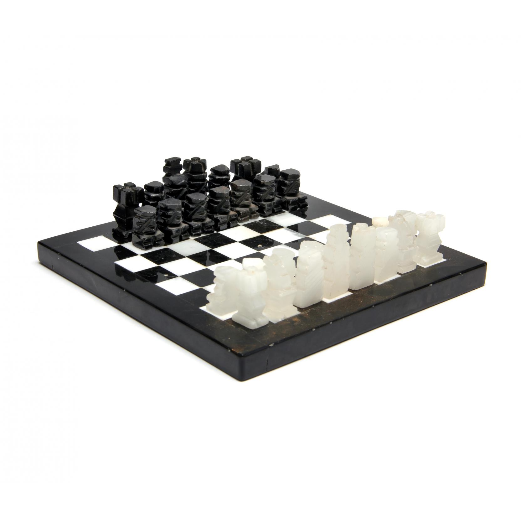 carved-stone-chess-set