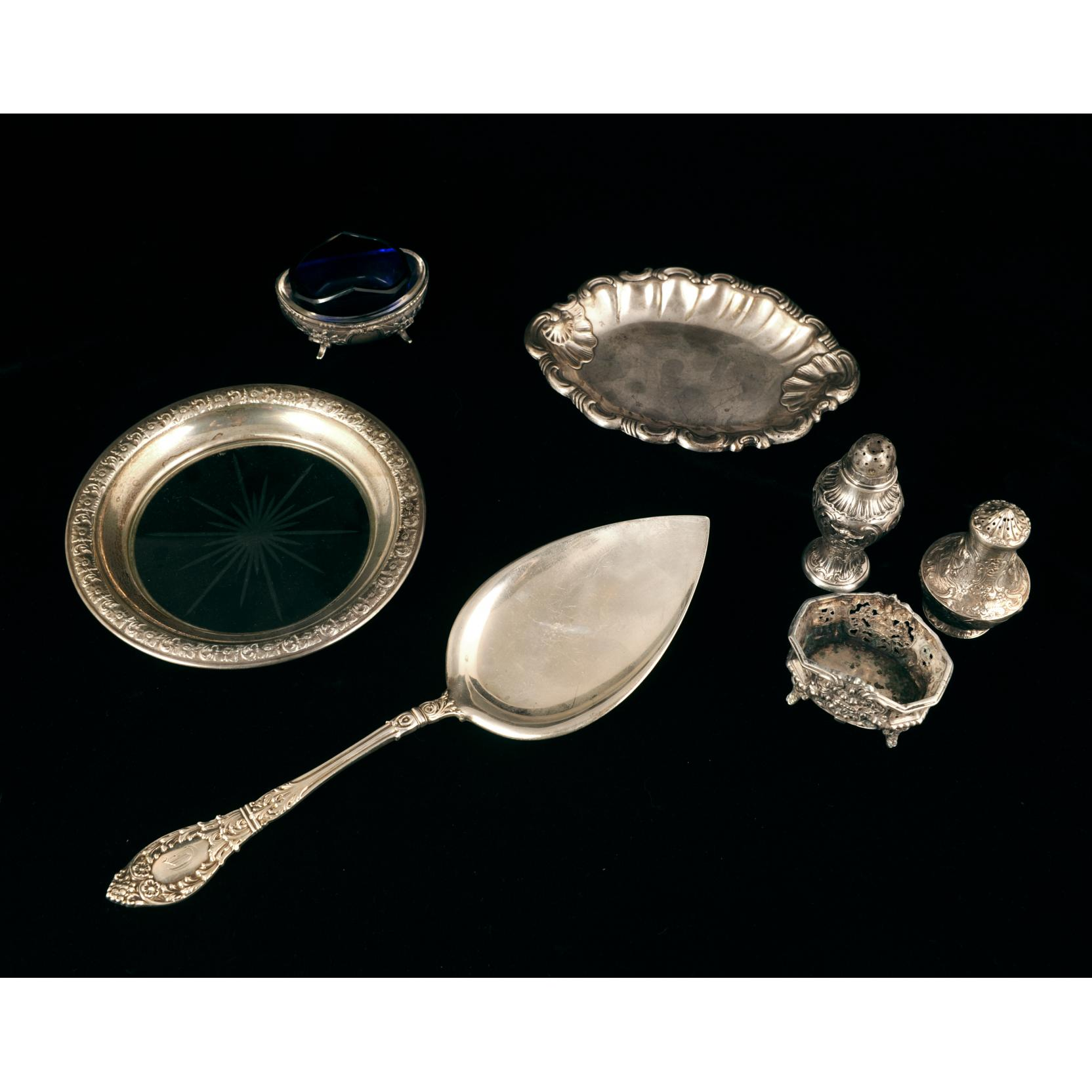 group-of-antique-sterling-silver-table-articles