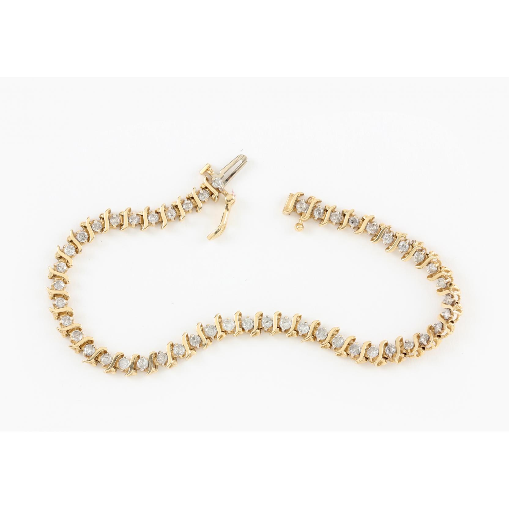 14kt-diamond-bracelet