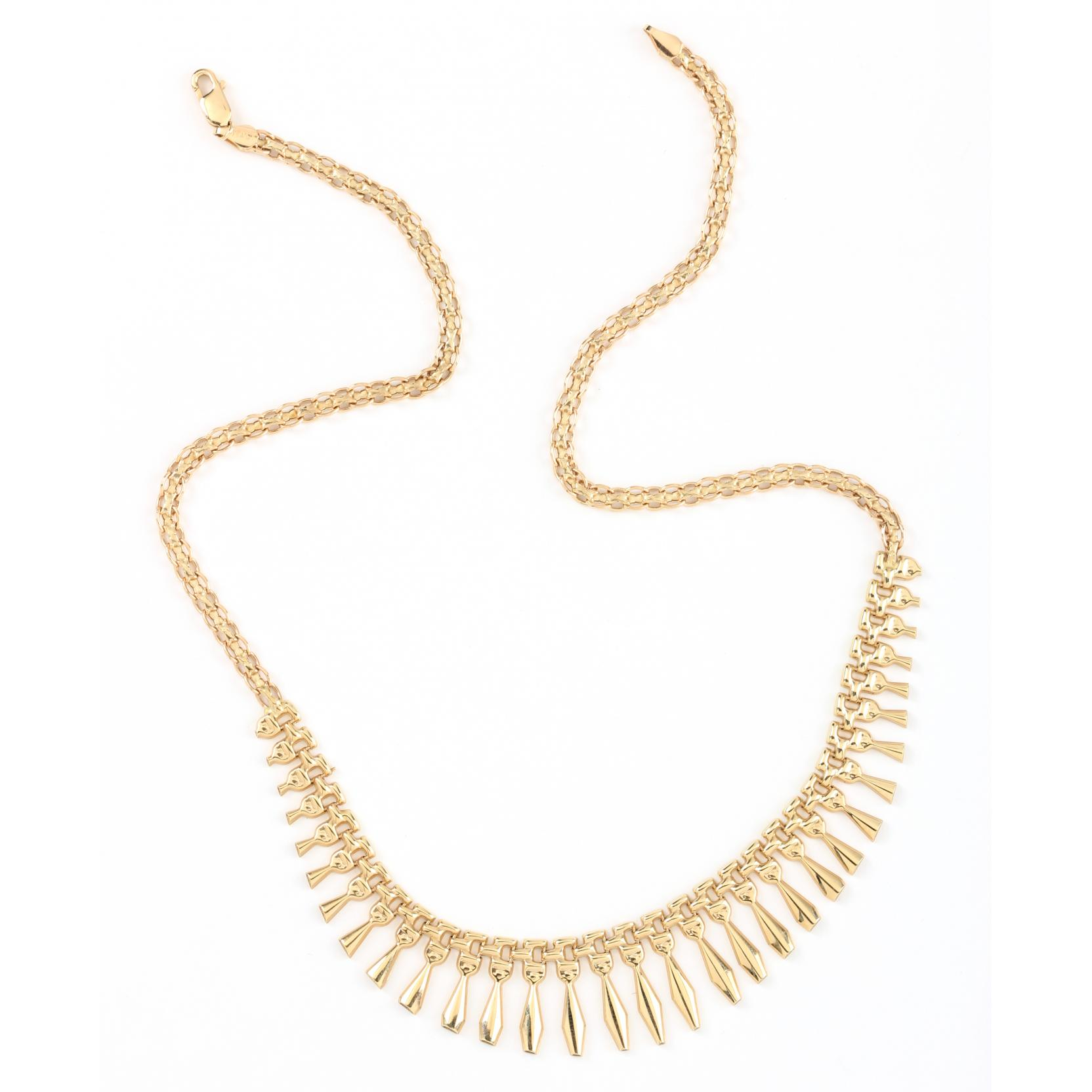 14kt-gold-fringe-necklace-italian