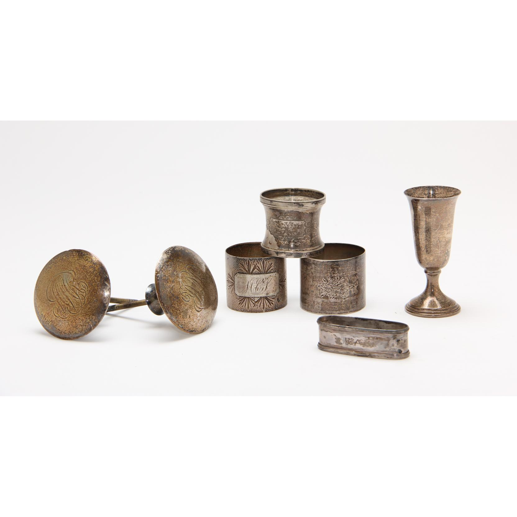 group-of-assorted-sterling-silver-silverplate