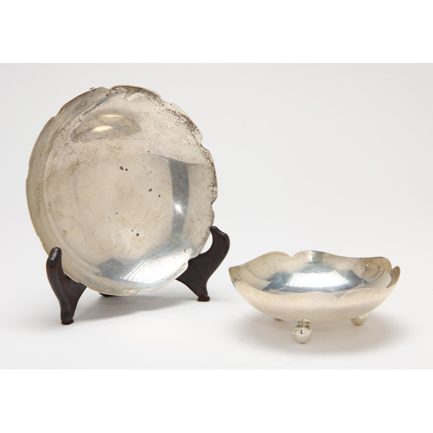 two-mexican-sterling-silver-modern-bowls
