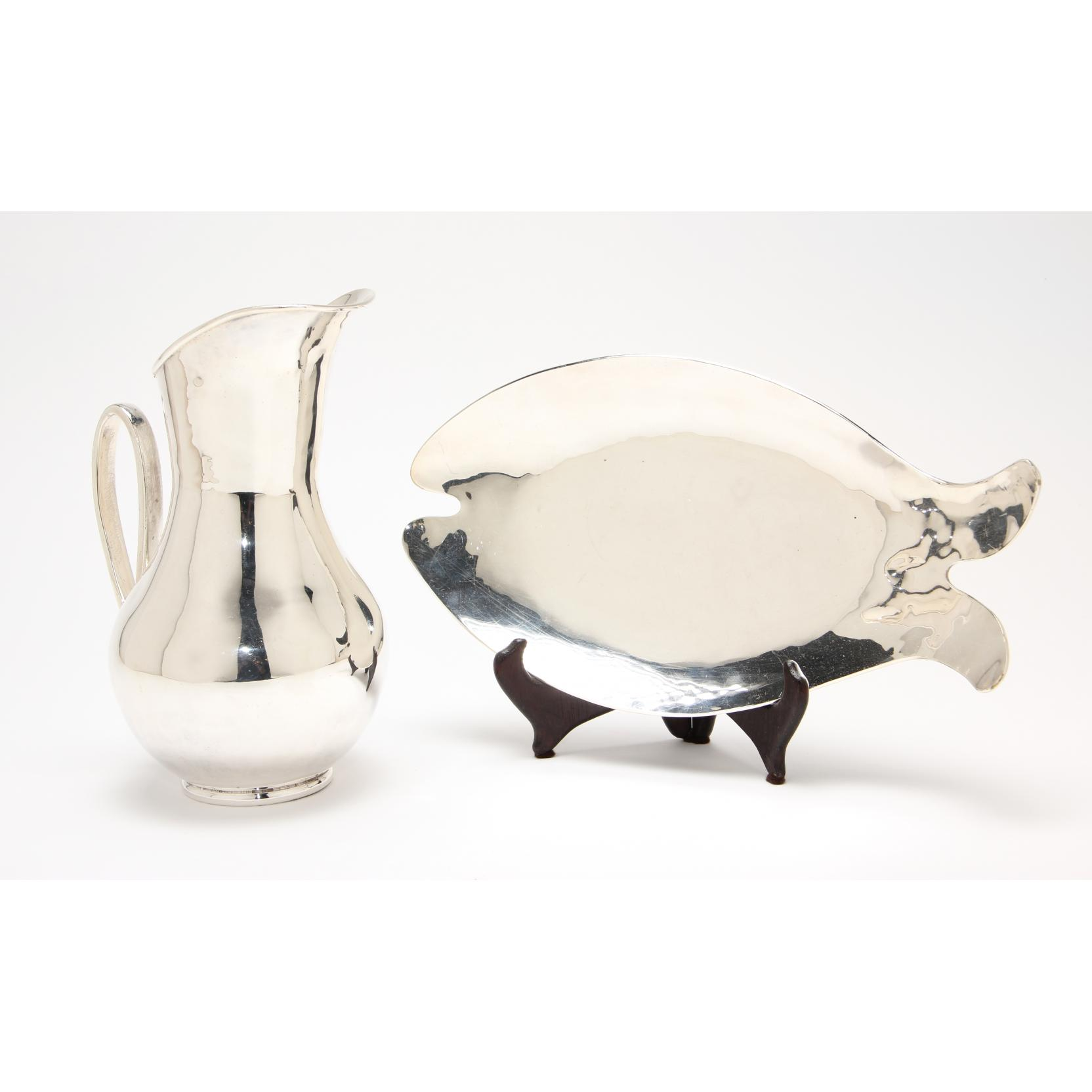 modernist-mexican-silverplate-pitcher-dish