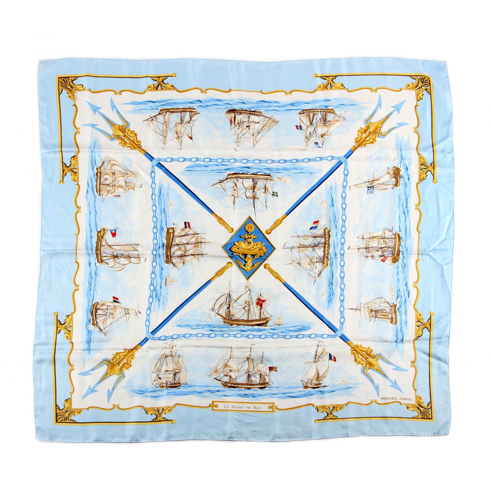 silk-scarf-la-marine-en-bois-hermes