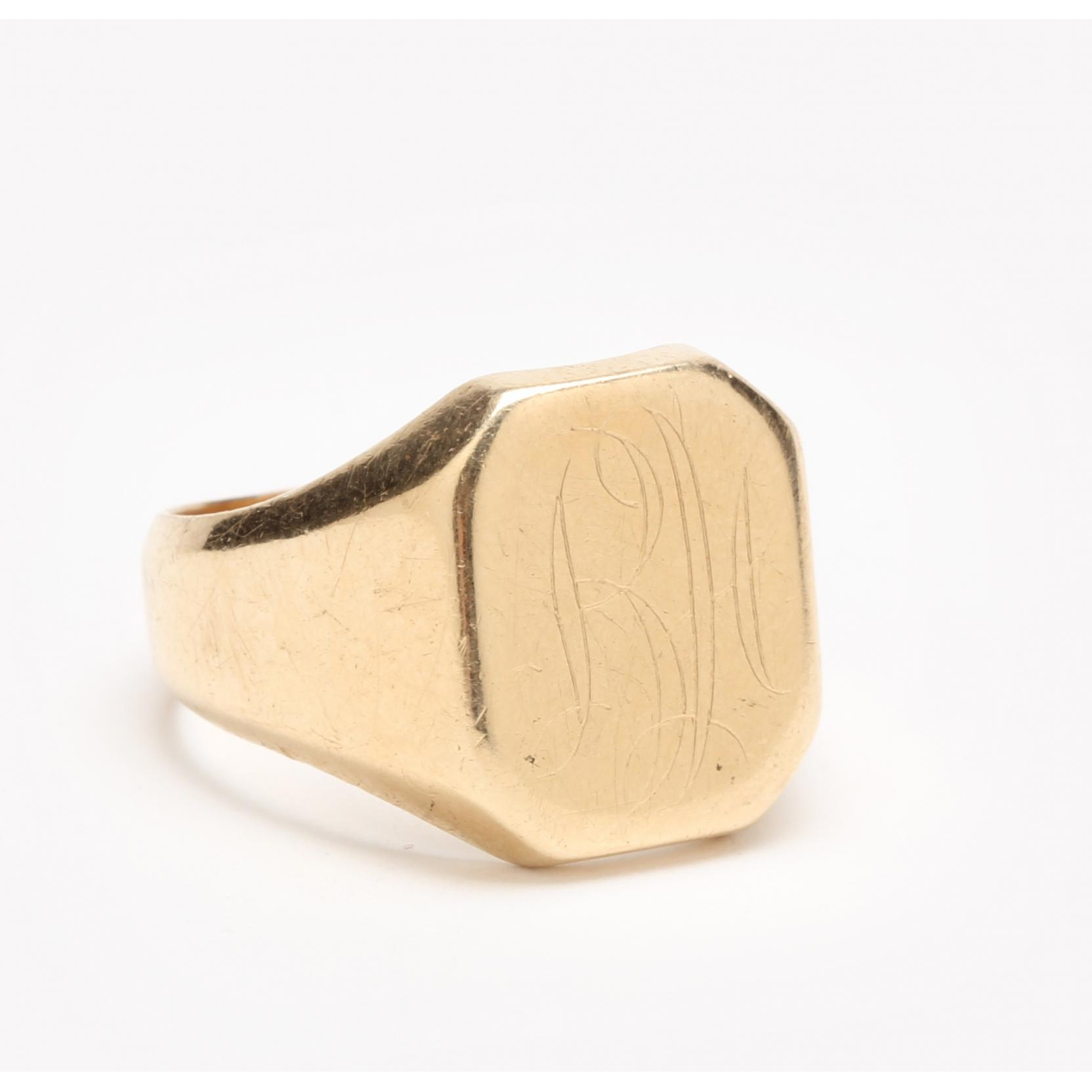 vintage-14kt-signet-ring
