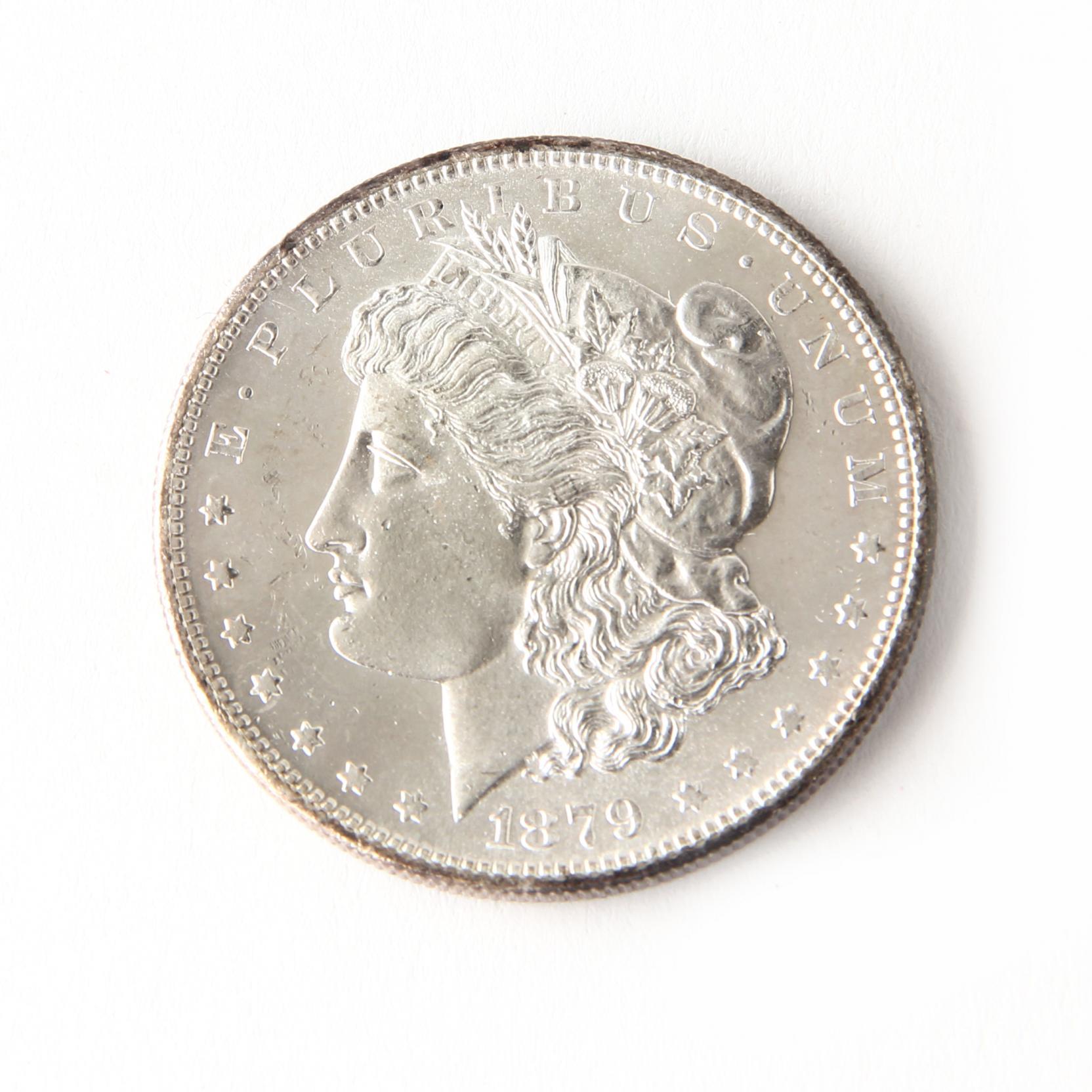 lustrous-brilliant-uncirculated-1879-morgan-silver-dollar