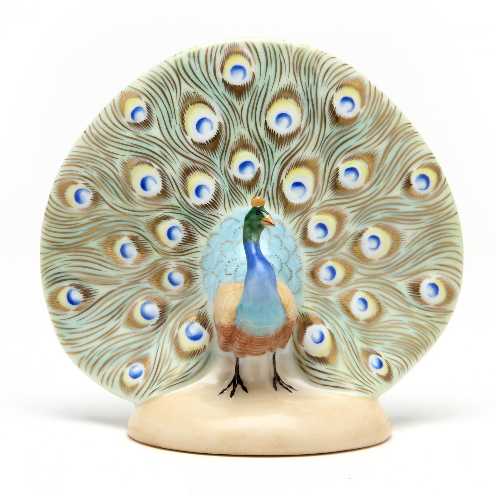 herend-porcelain-natural-peacock-5074