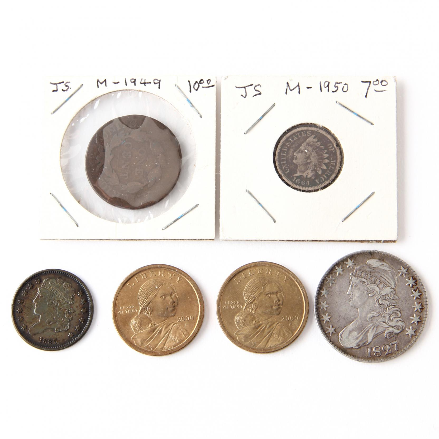 four-19th-century-american-coins
