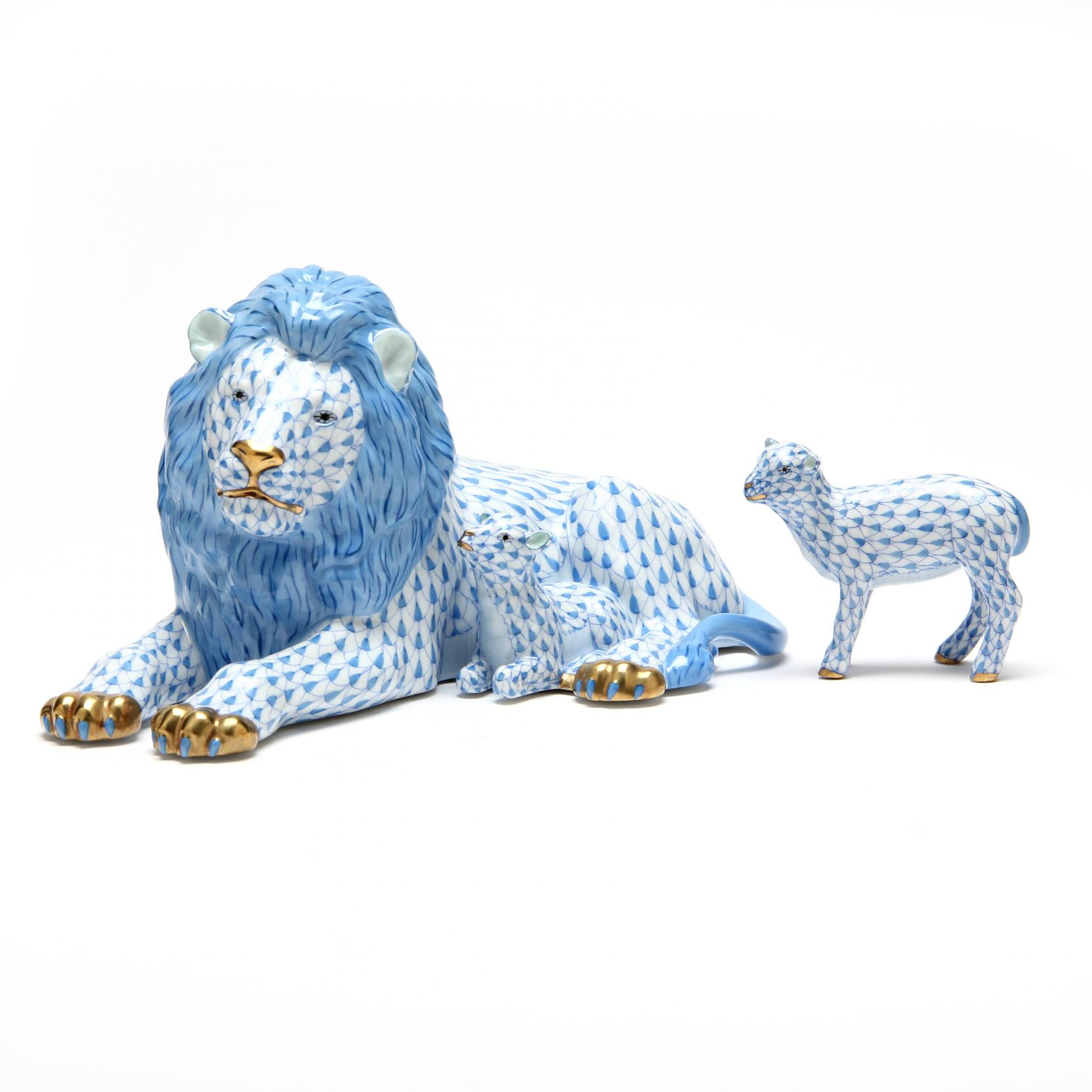 herend-peaceful-kingdom-lion-and-lamb