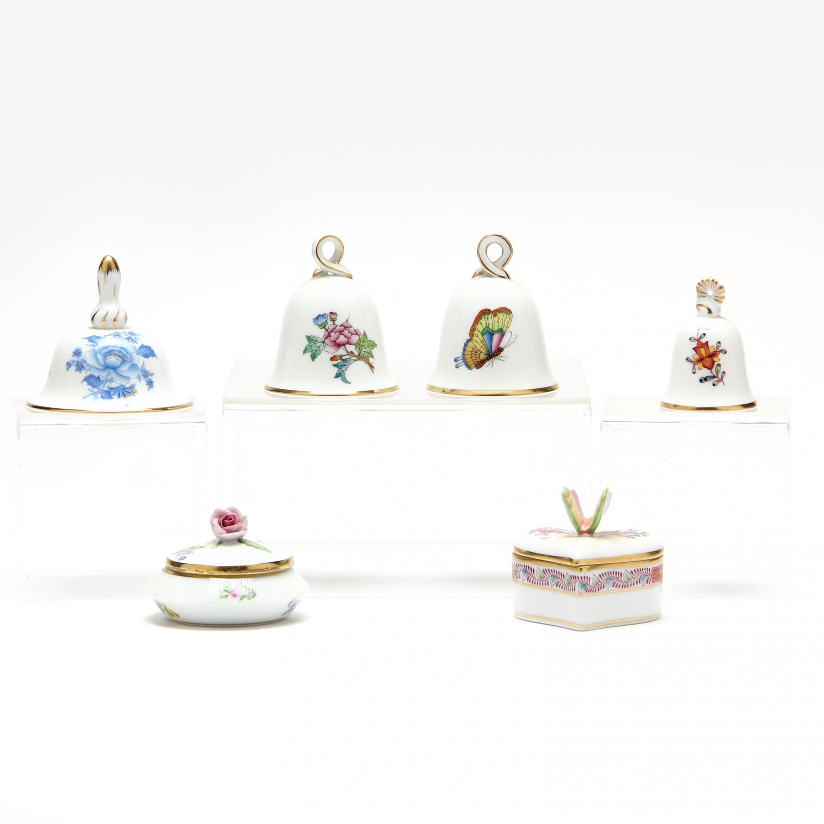 herend-trinket-boxes-and-bells