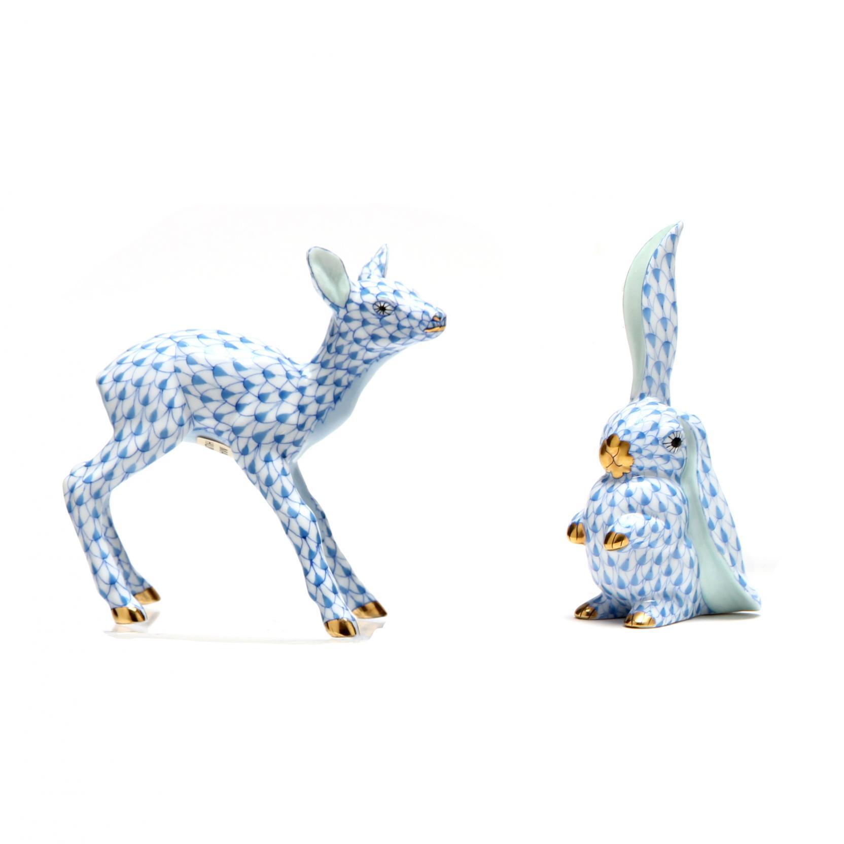 two-herend-woodland-animals