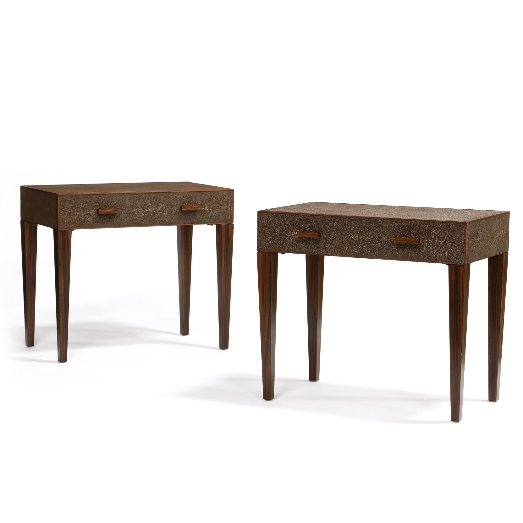 modern-history-pair-of-faux-shagreen-and-rosewood-stands