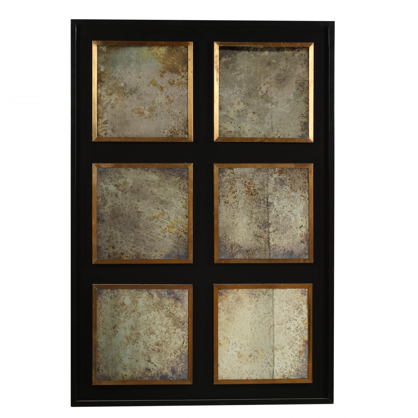 contemporary-six-panel-mirror