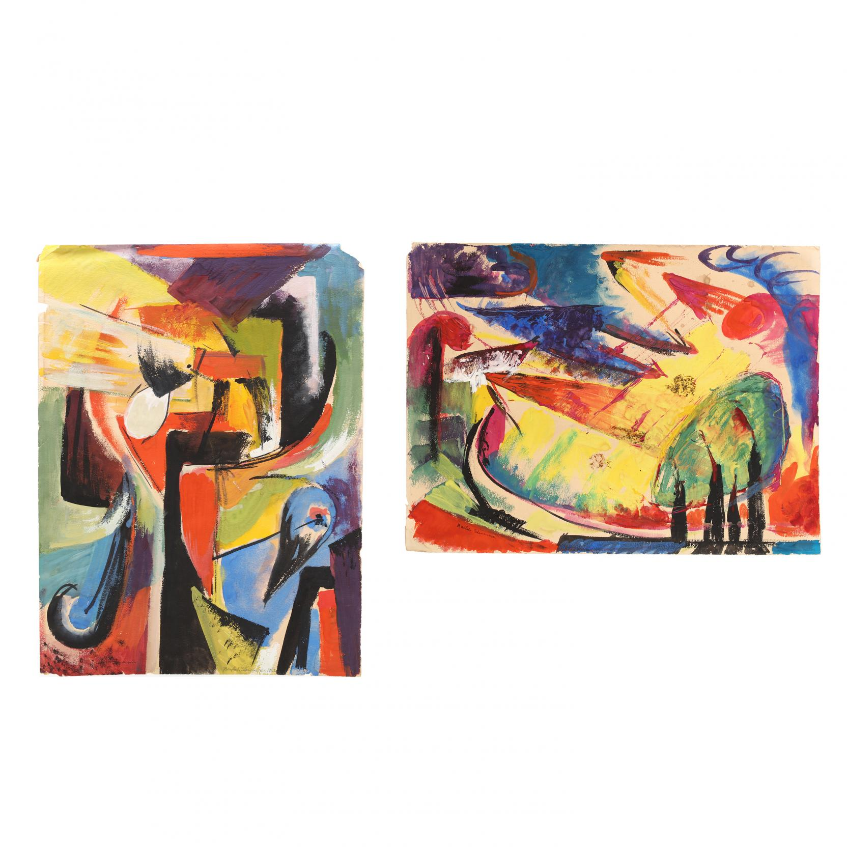 beulah-stevenson-ny-1890-1965-two-signed-abstract-works