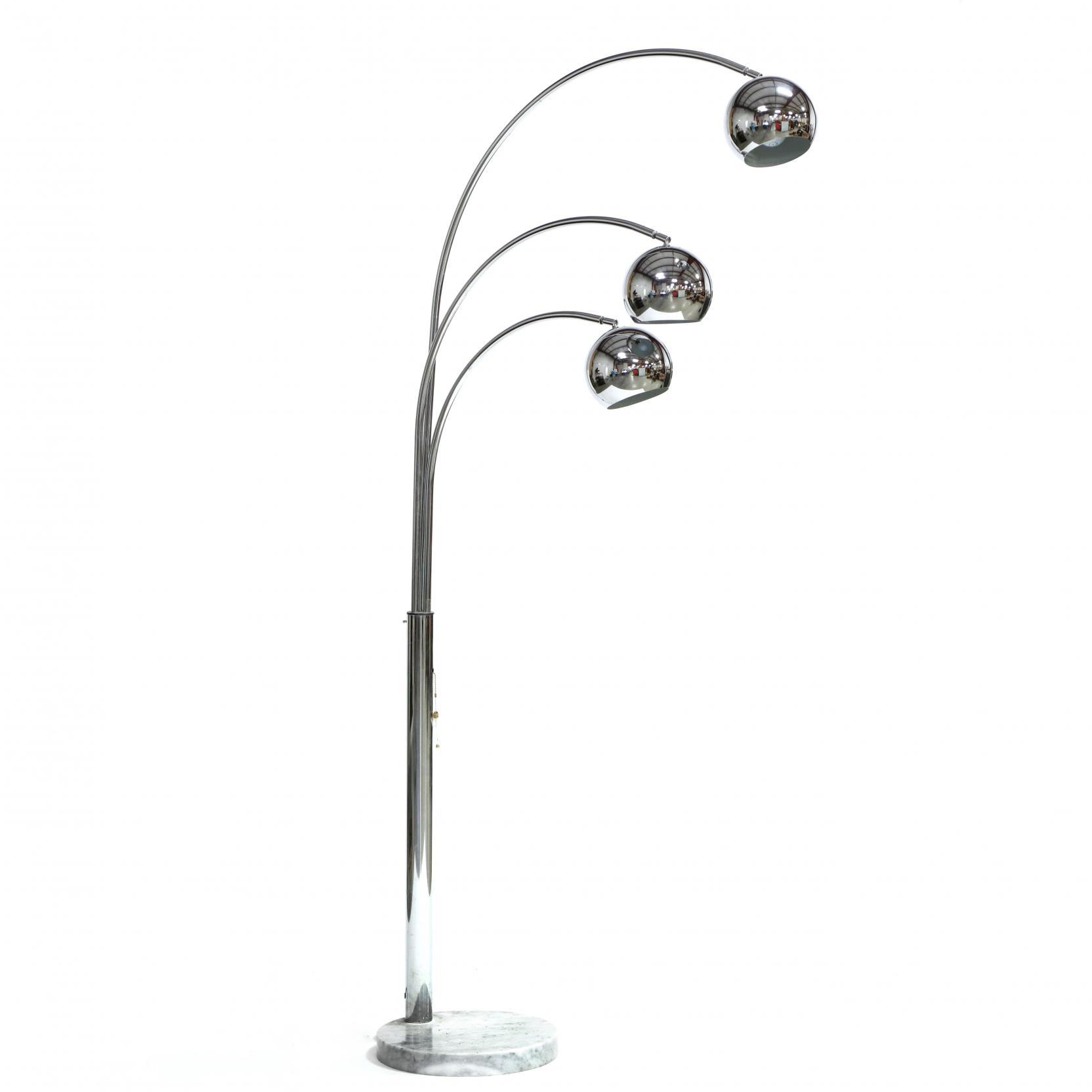 mid-century-chrome-floor-lamp
