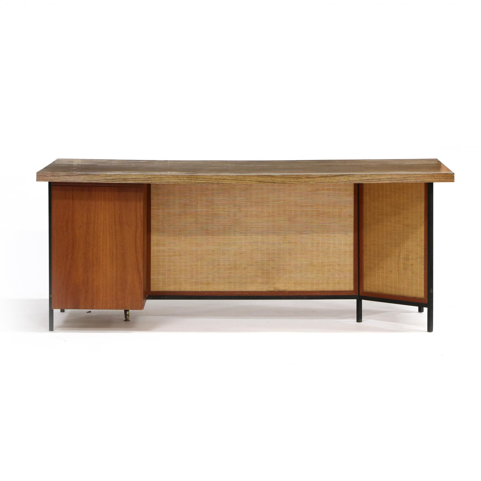 mid-century-executive-desk