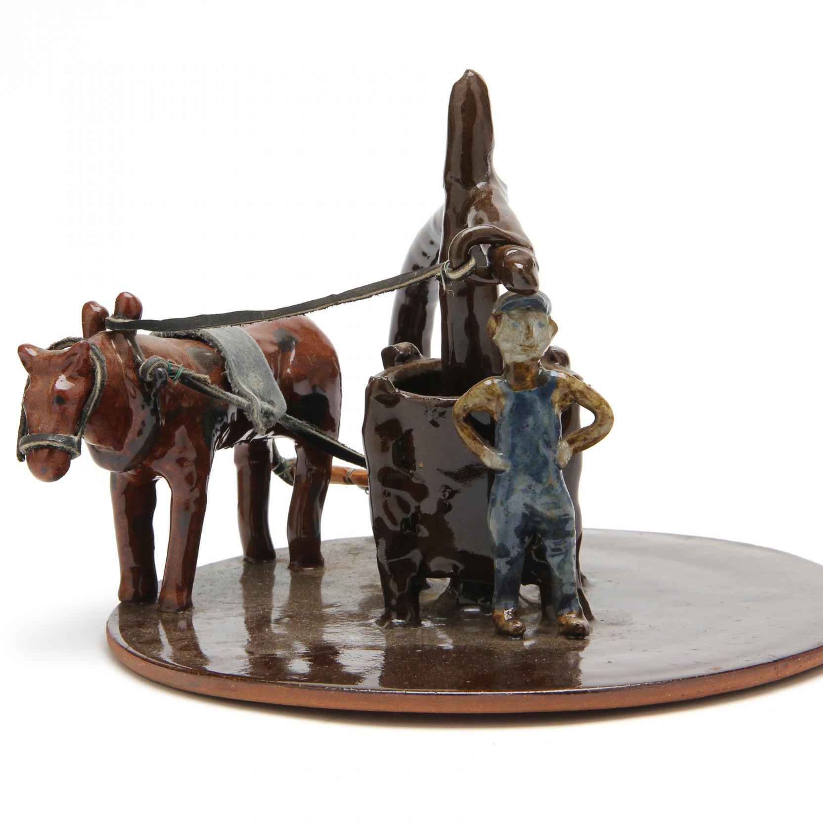nc-folk-pottery-pug-mill-figurine-charles-moore