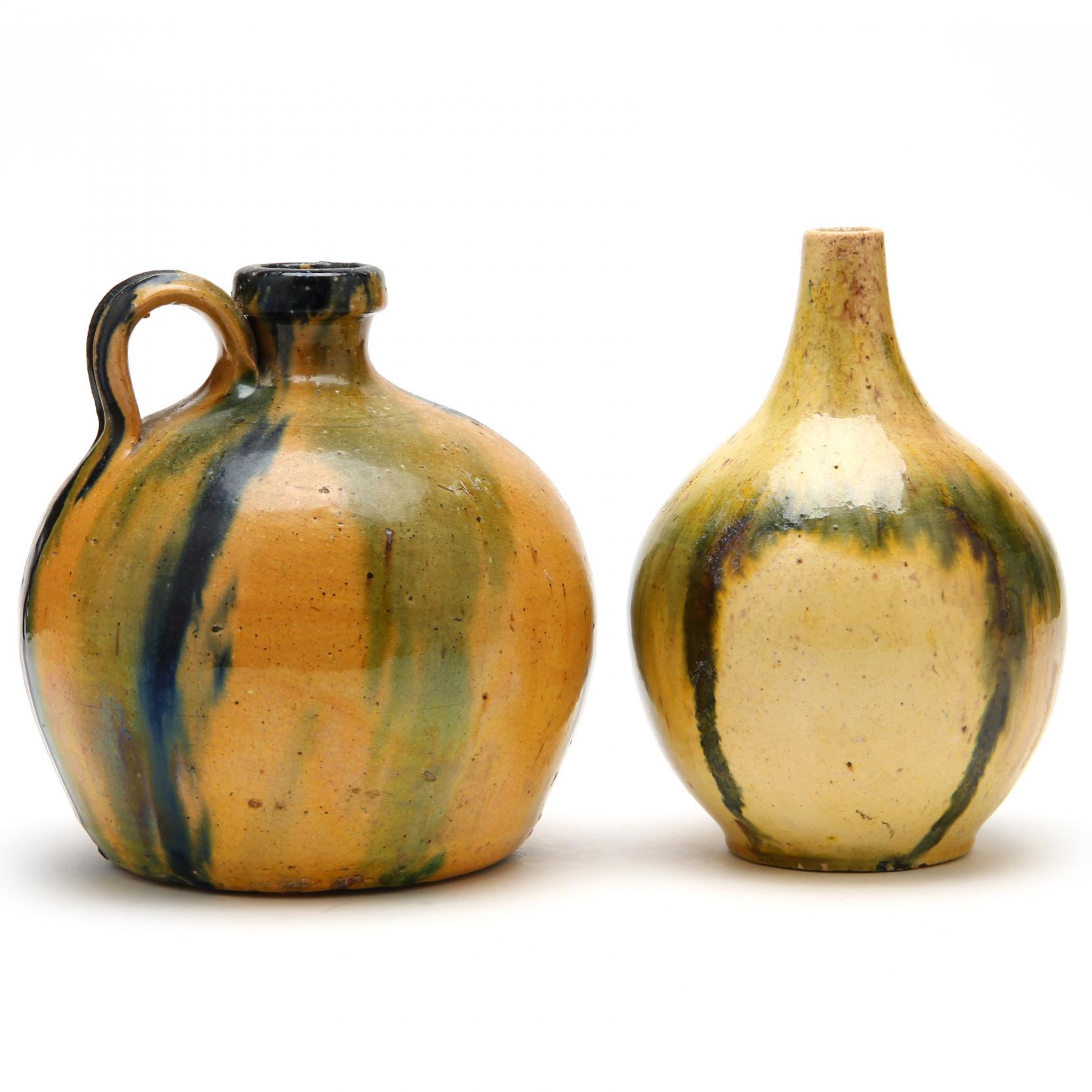 c-r-auman-pottery-two-vessels