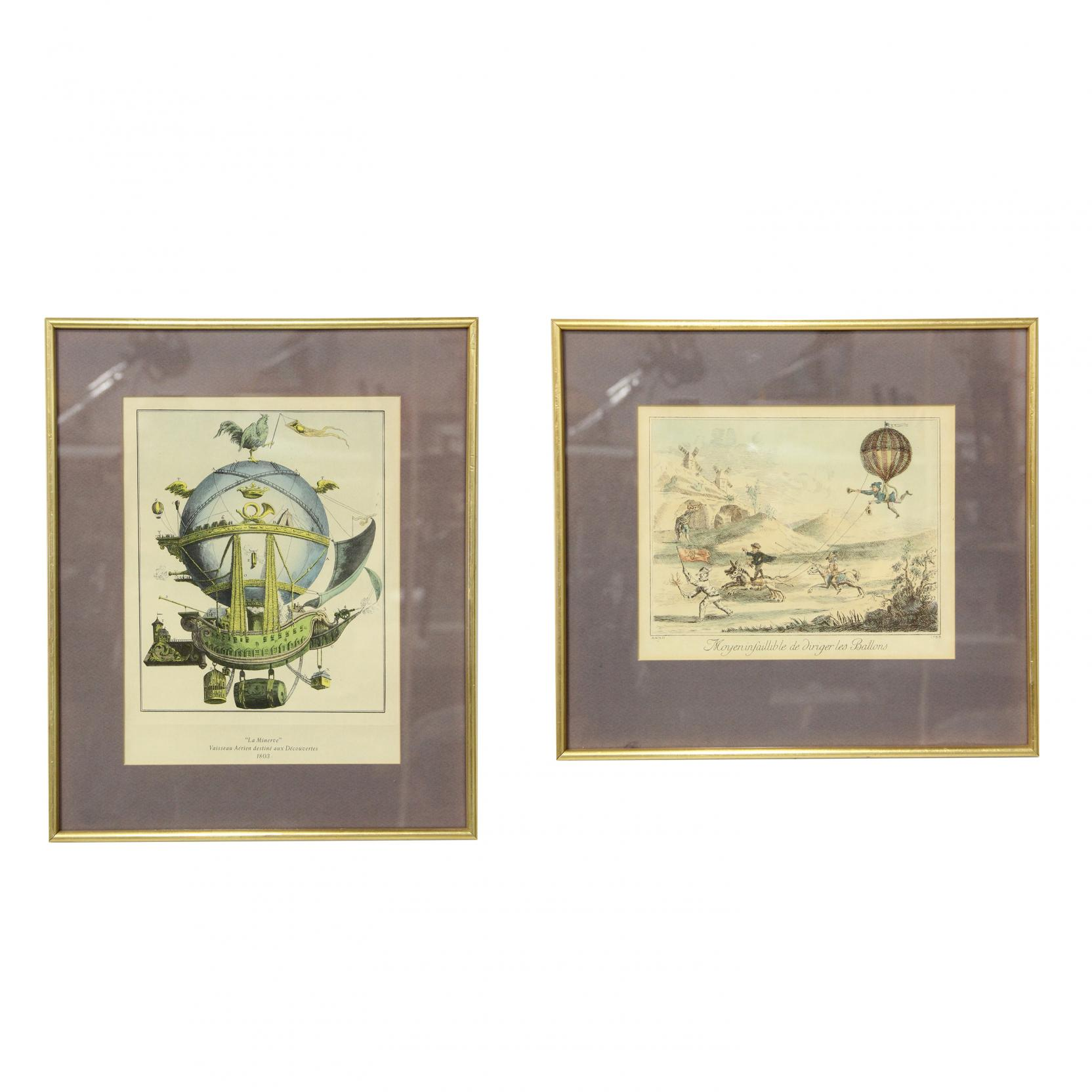 pair-of-framed-whimsical-french-prints