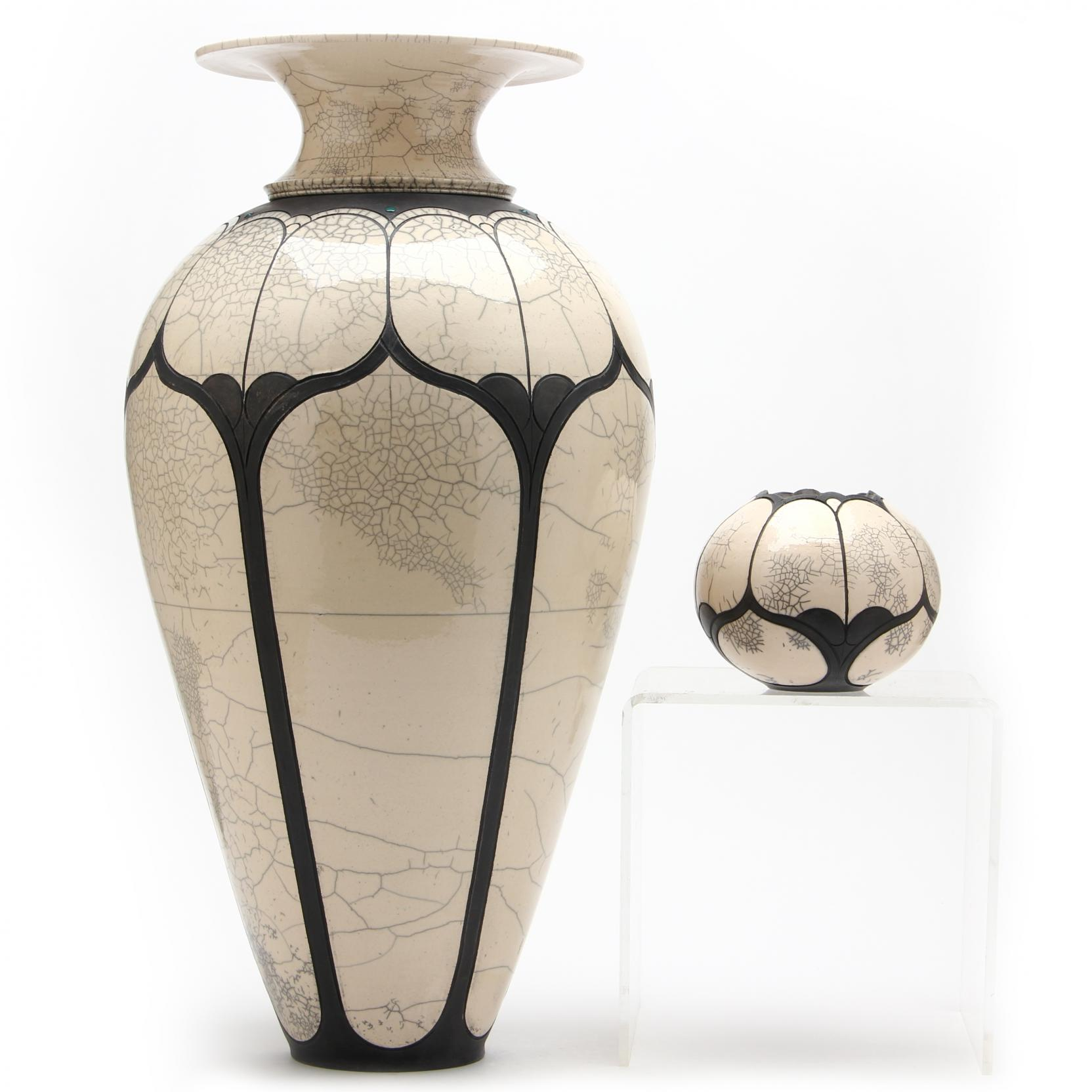 nc-pottery-andy-smith-two-raku-vessels