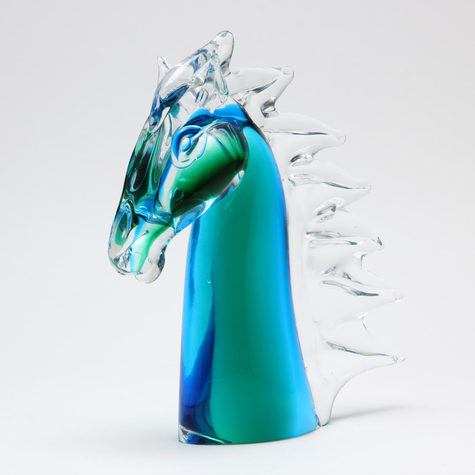 murano-glass-bust-of-a-horse