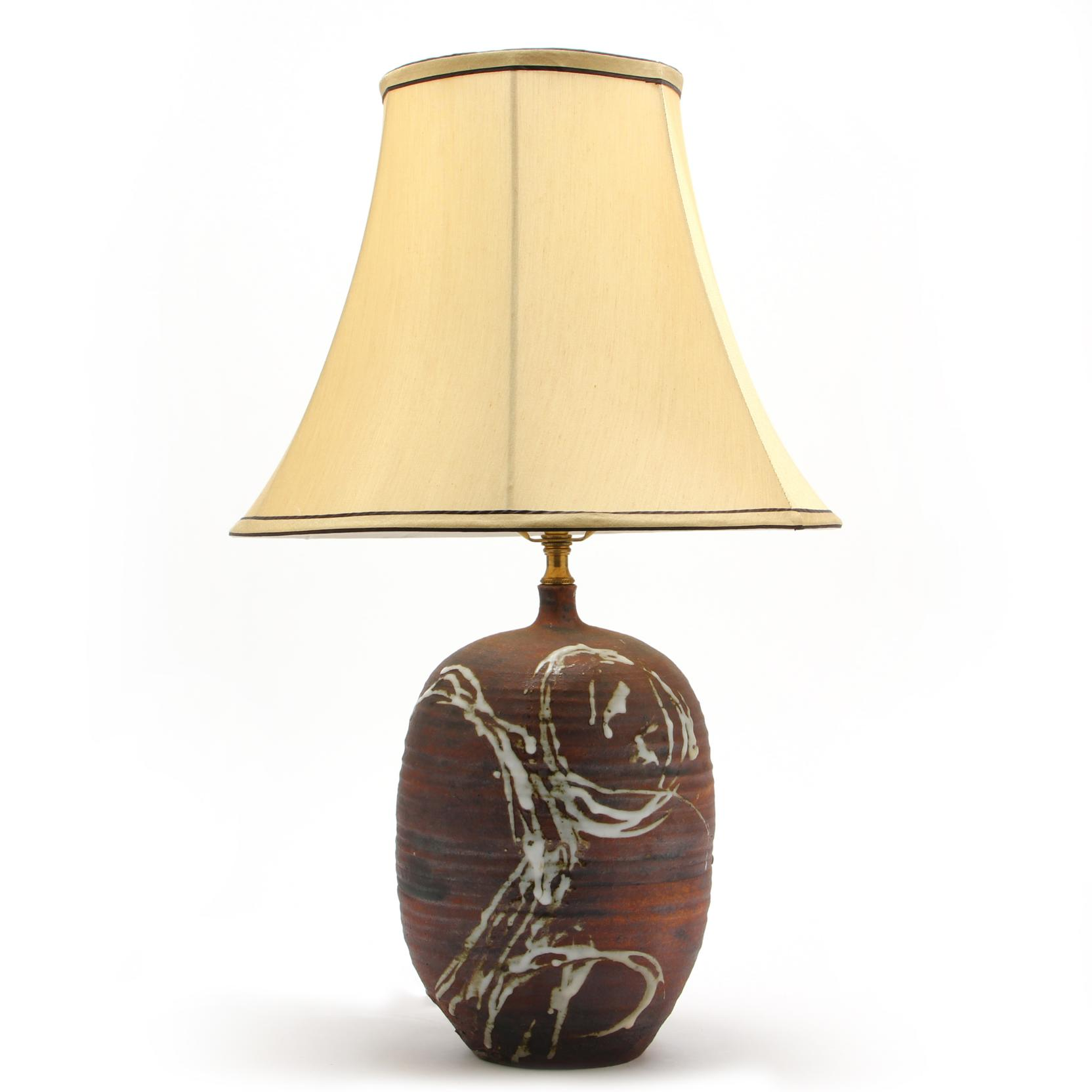 mid-century-art-pottery-table-lamp