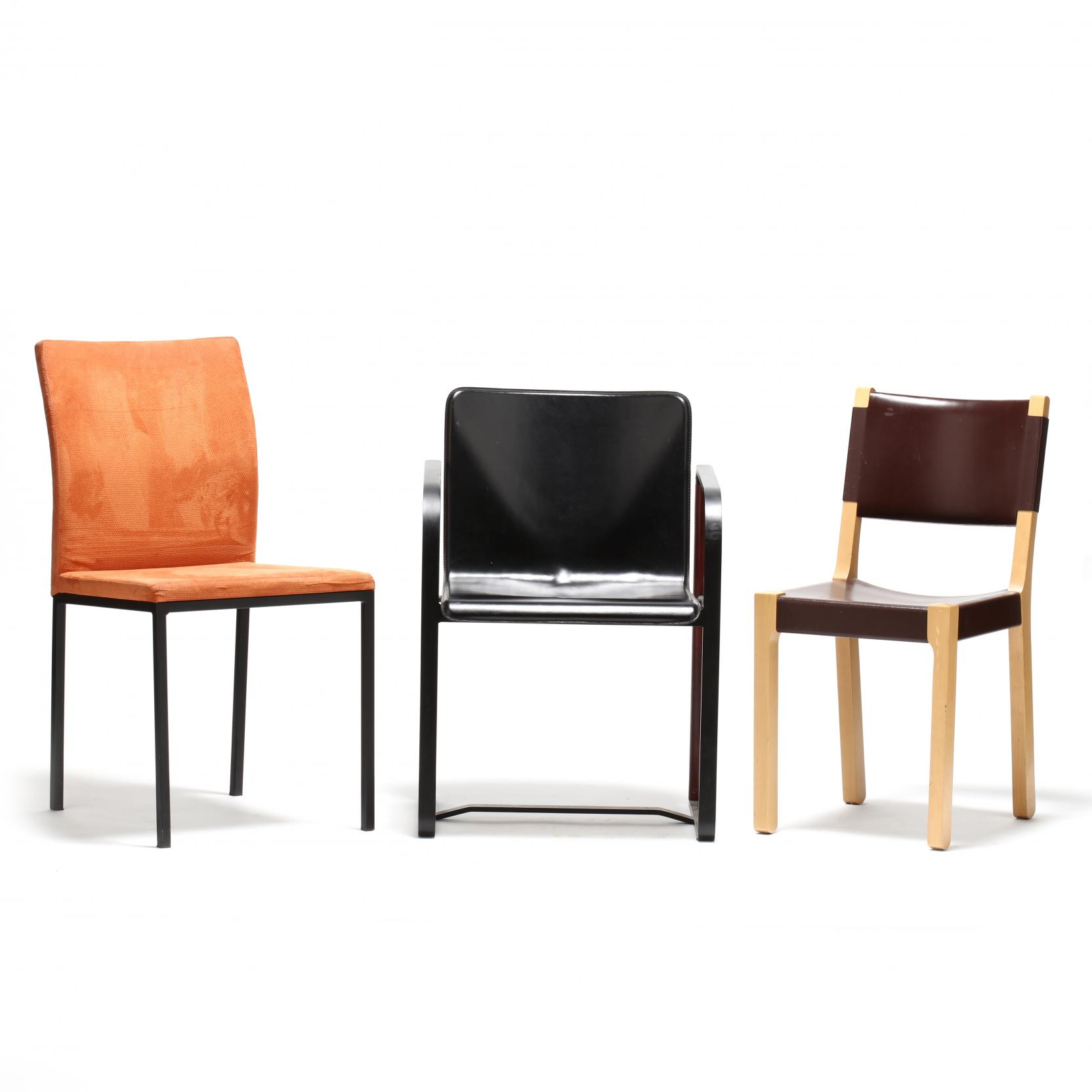 three-italian-modernist-chairs