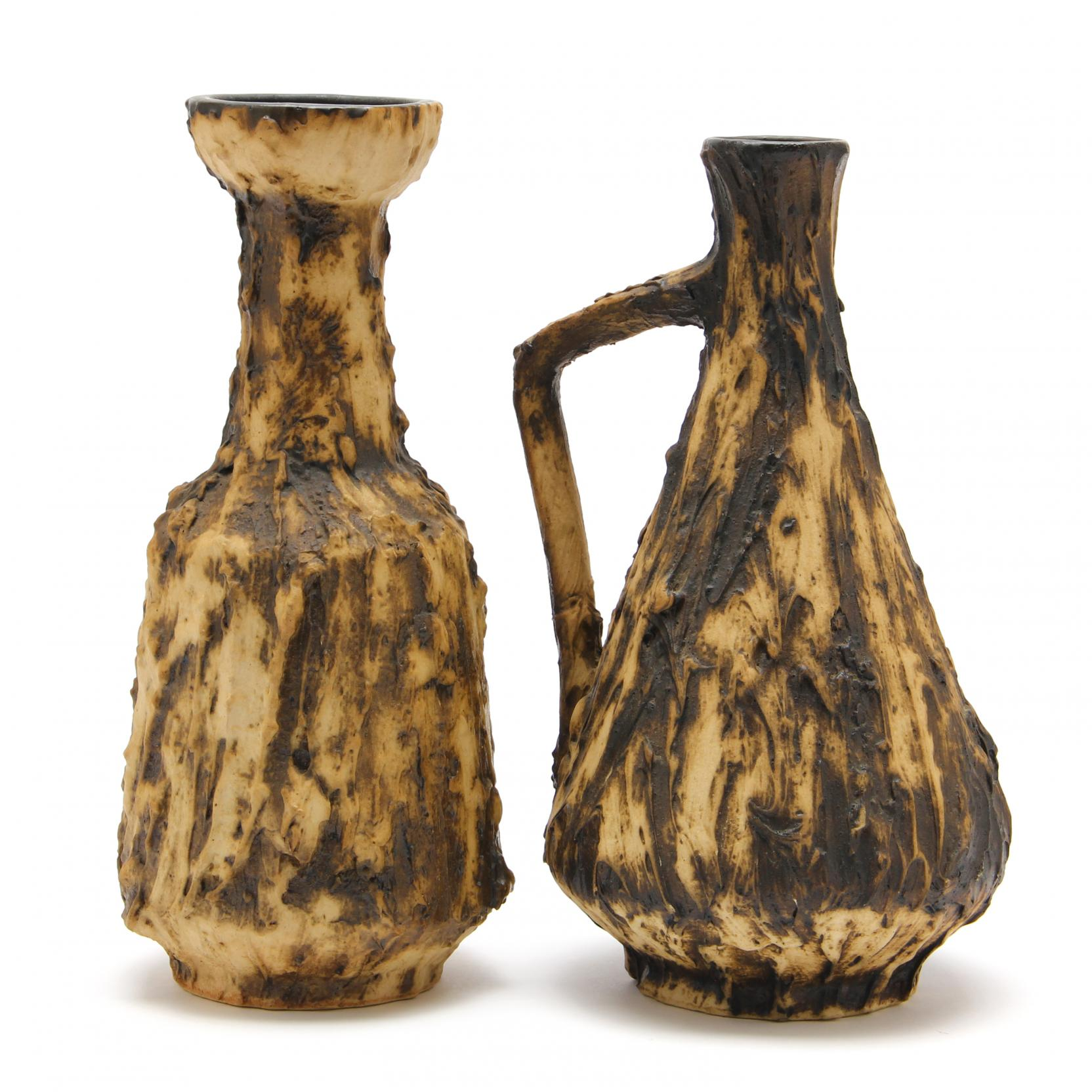 two-pieces-of-vintage-fat-lava-pottery