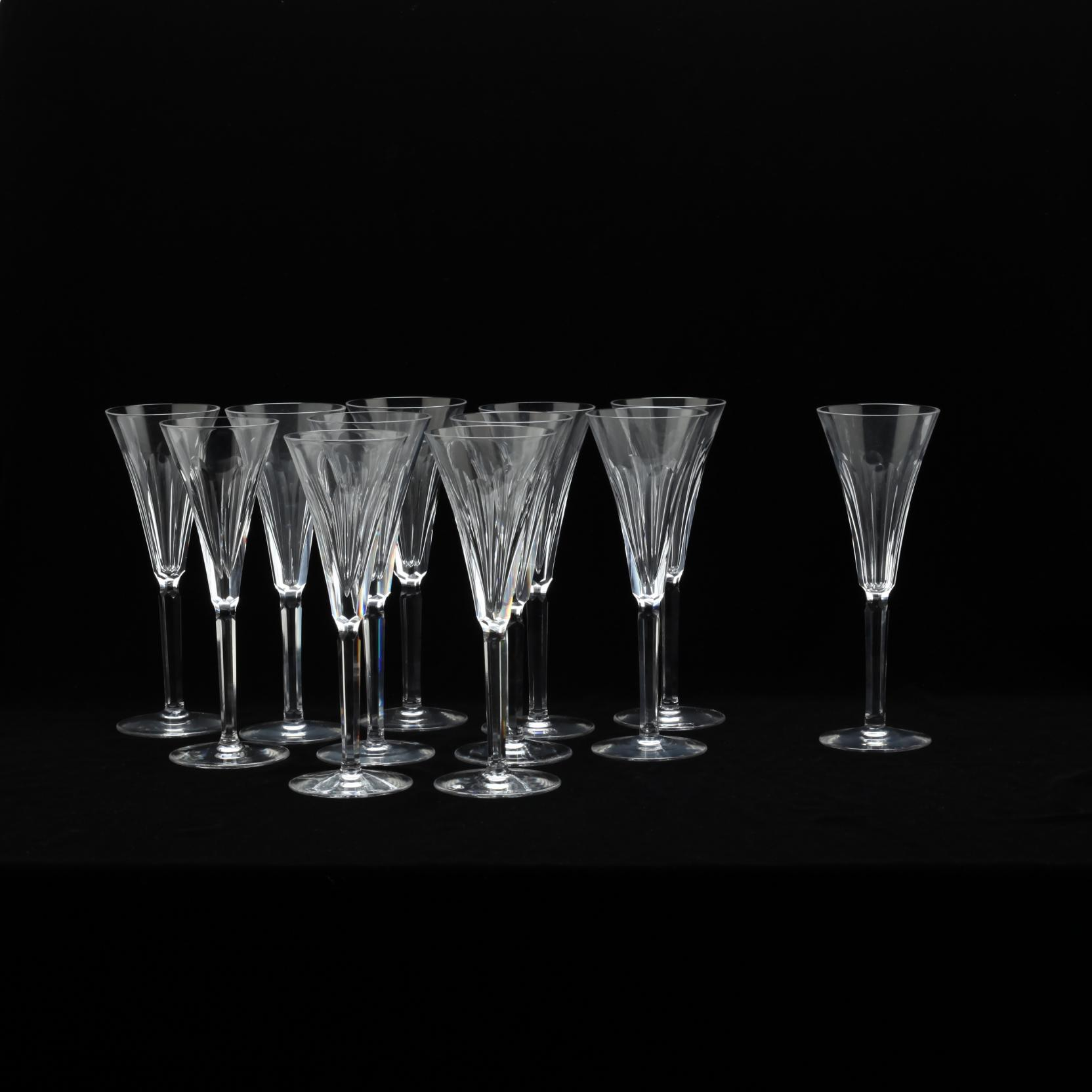 waterford-twelve-clodagh-fluted-champagne-stems