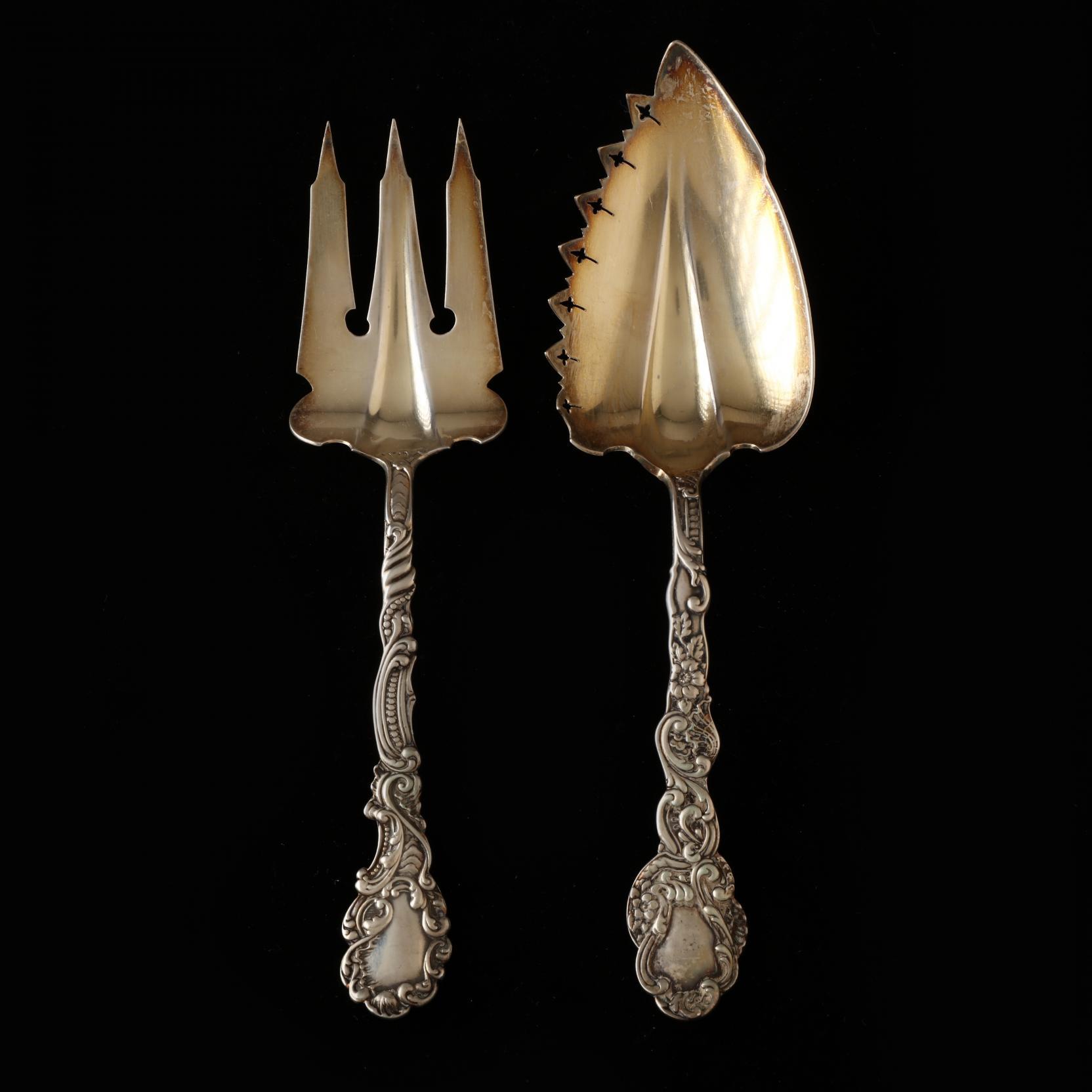 two-gorham-marie-antoinette-sterling-silver-servers