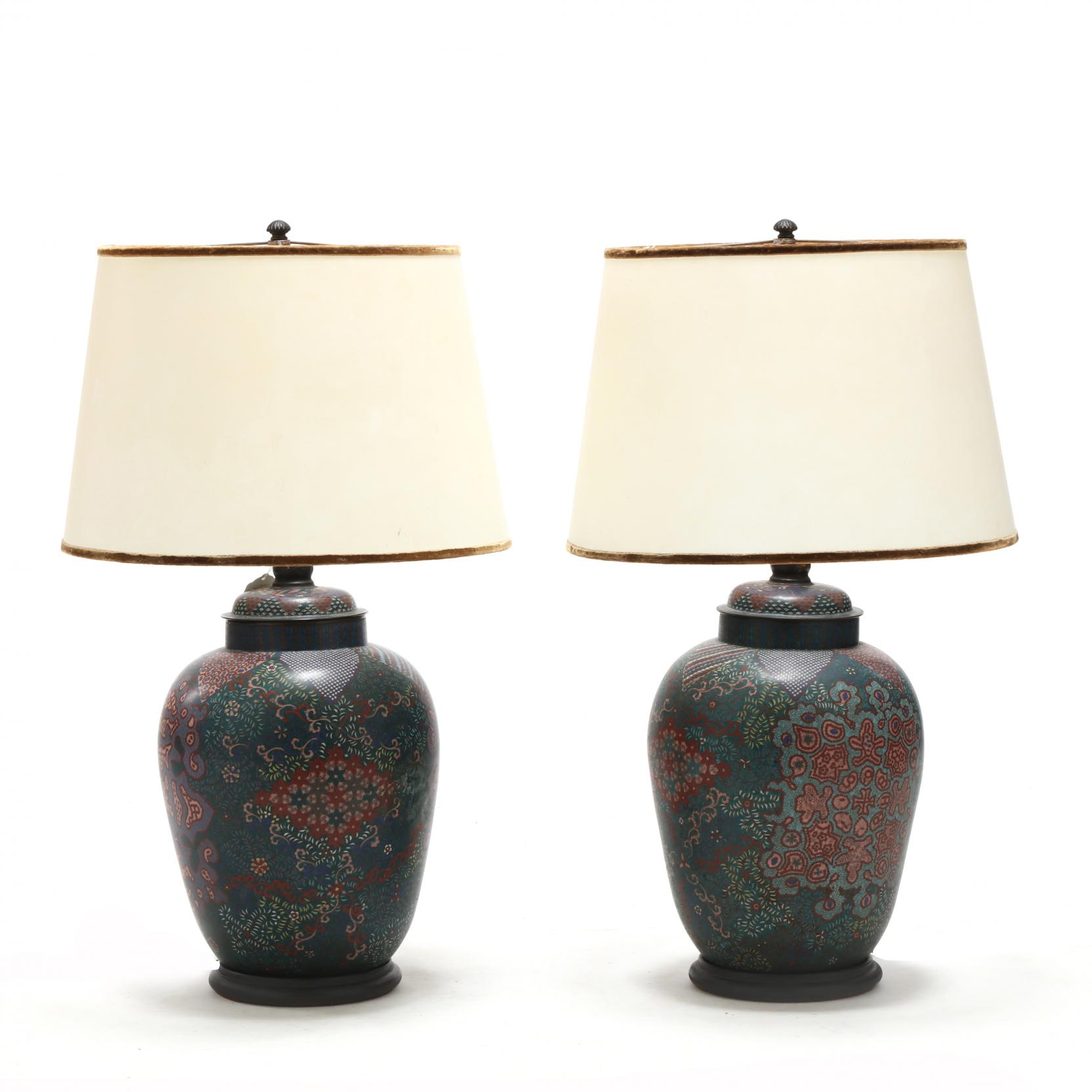 a-pair-of-large-cloisonne-lamps