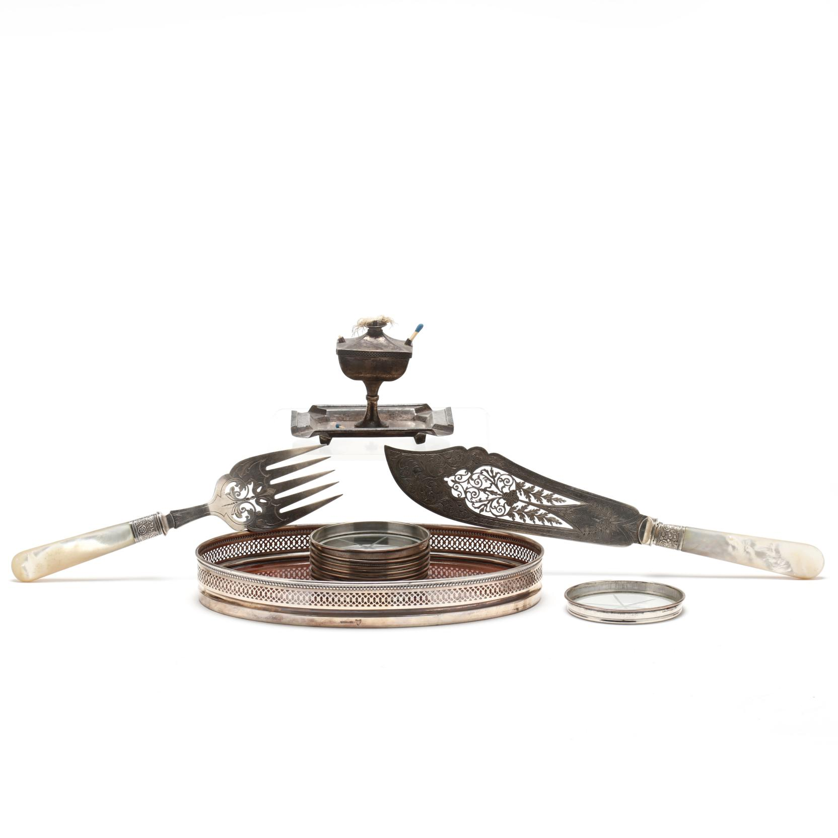 a-group-of-vintage-antique-silver