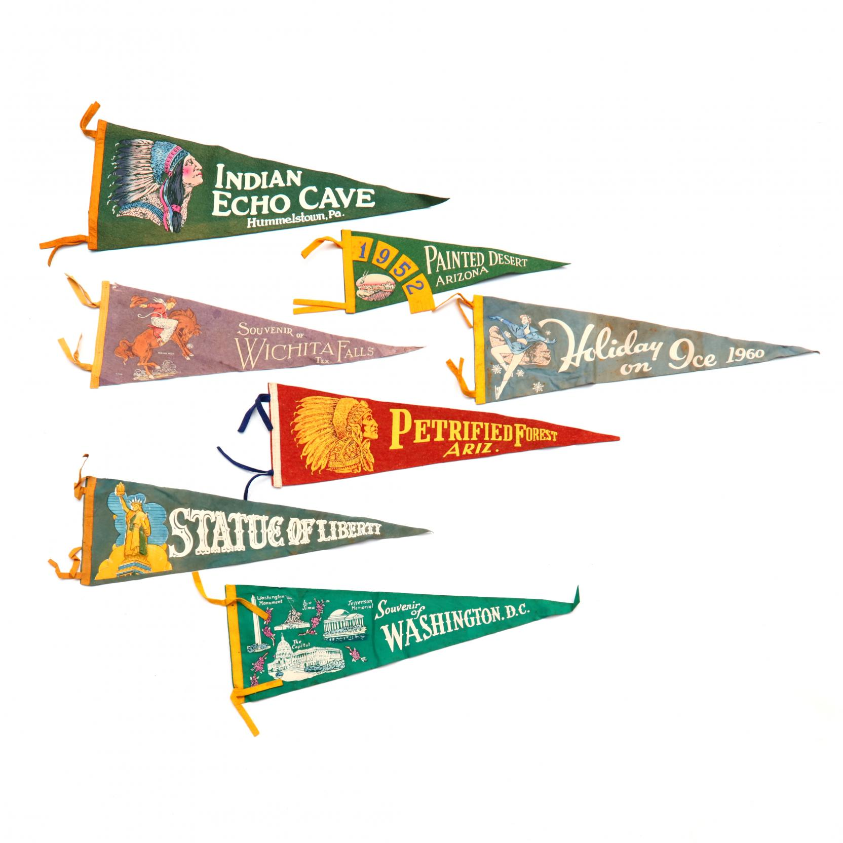 group-of-seven-vintage-felt-pennants