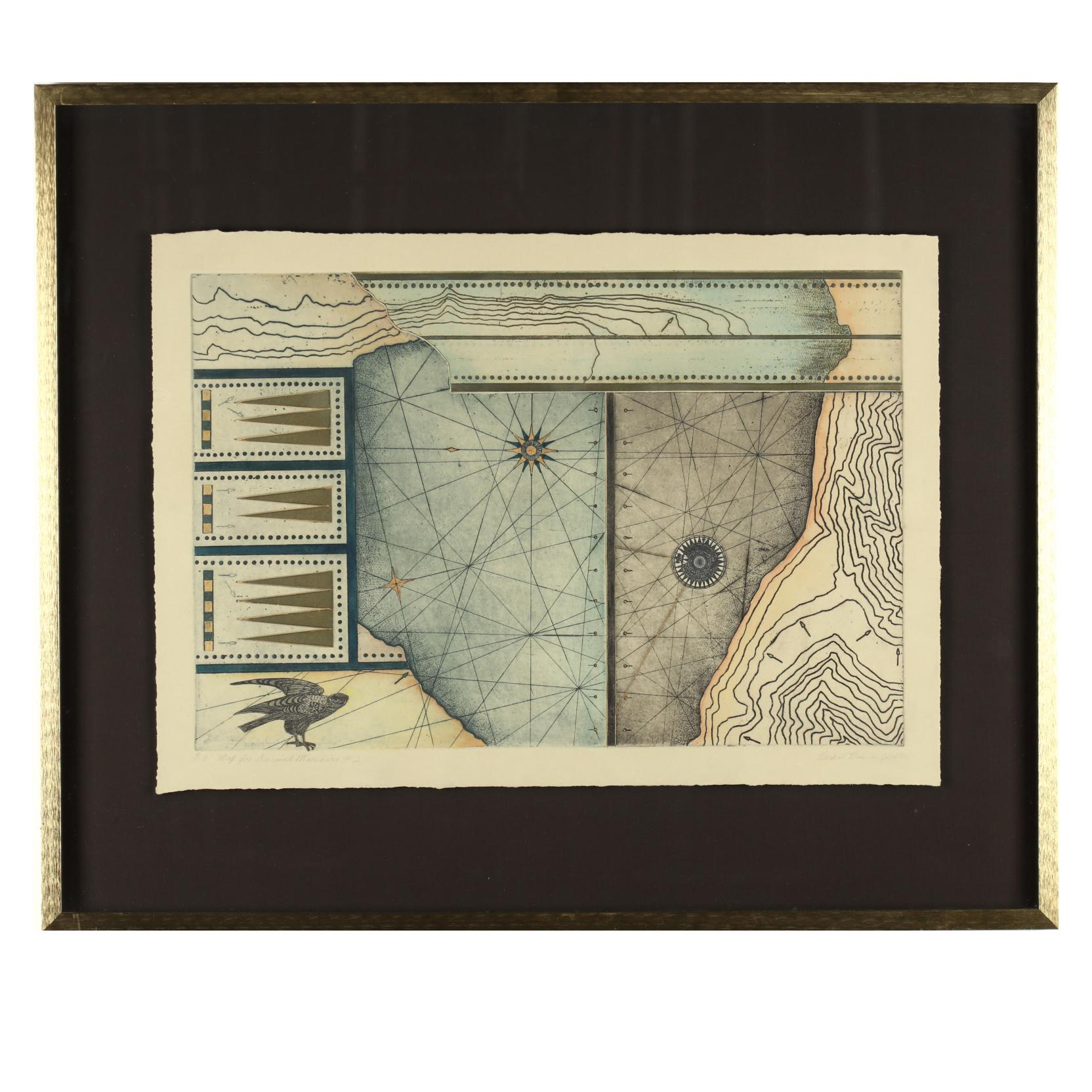 vivian-bergenfeld-pa-1923-2004-i-map-for-ancient-mariners-2-i