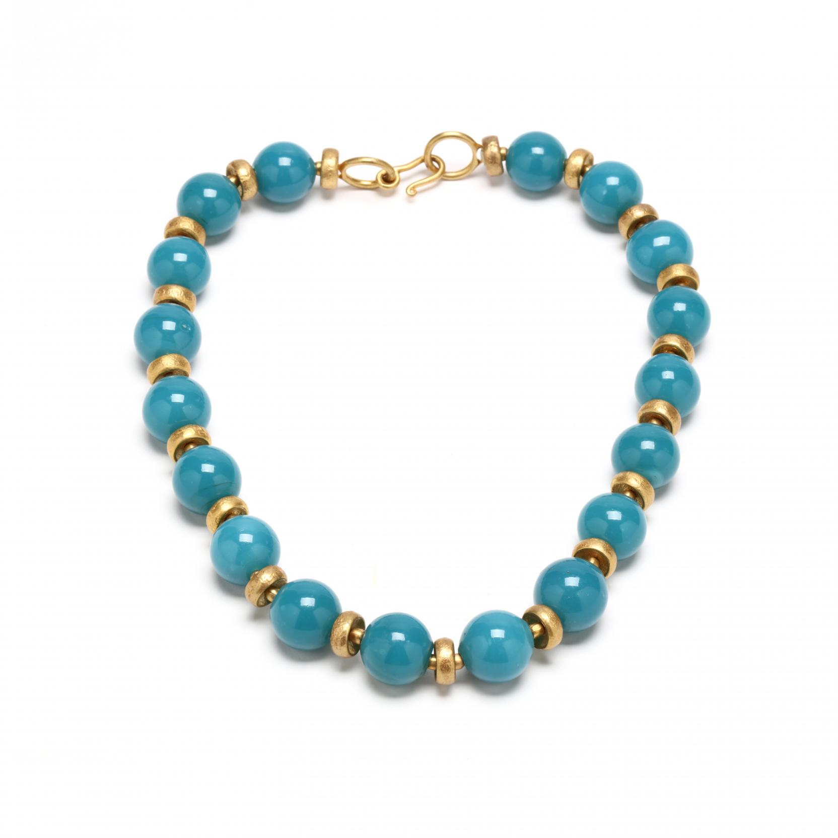 glass-bead-necklace