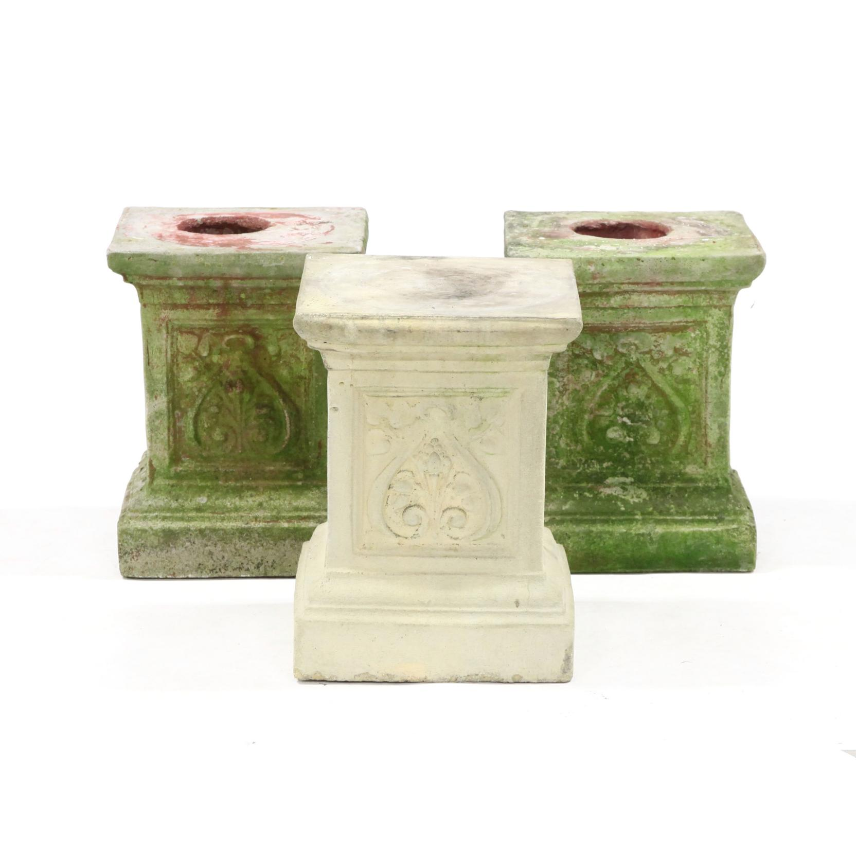 set-of-three-cast-stone-garden-plinths