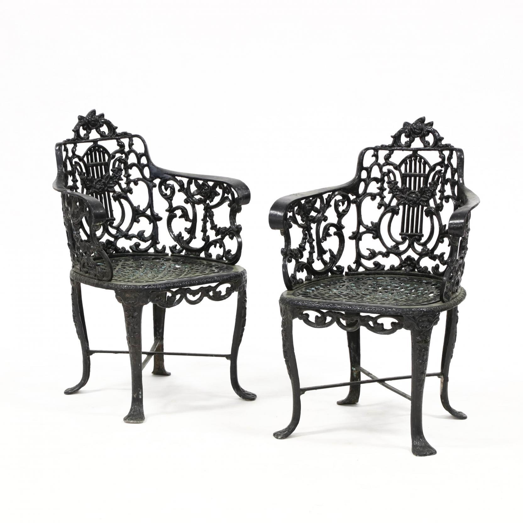 pair-of-vintage-cast-aluminum-garden-chairs