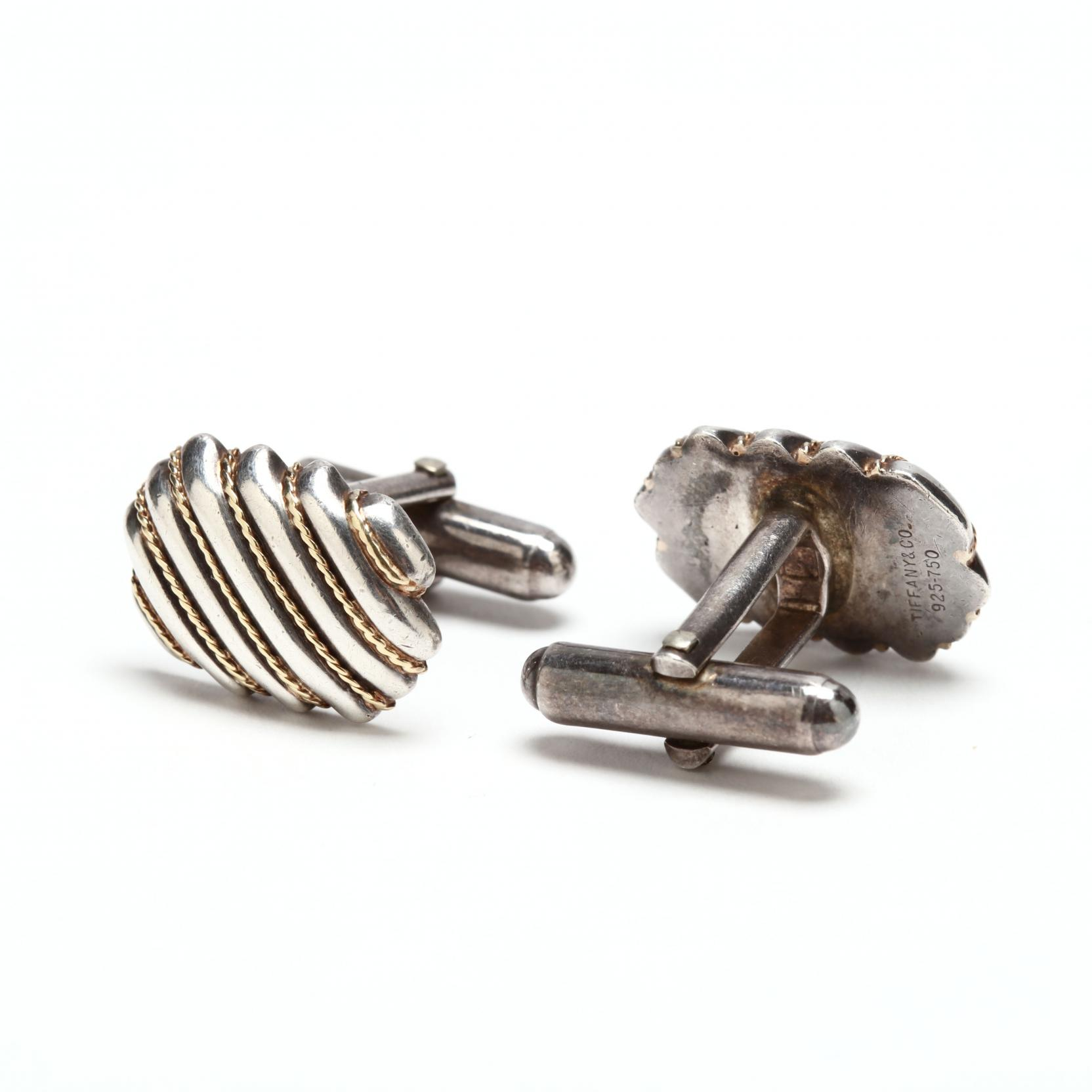 sterling-silver-and-18kt-gold-cufflinks-tiffany-co