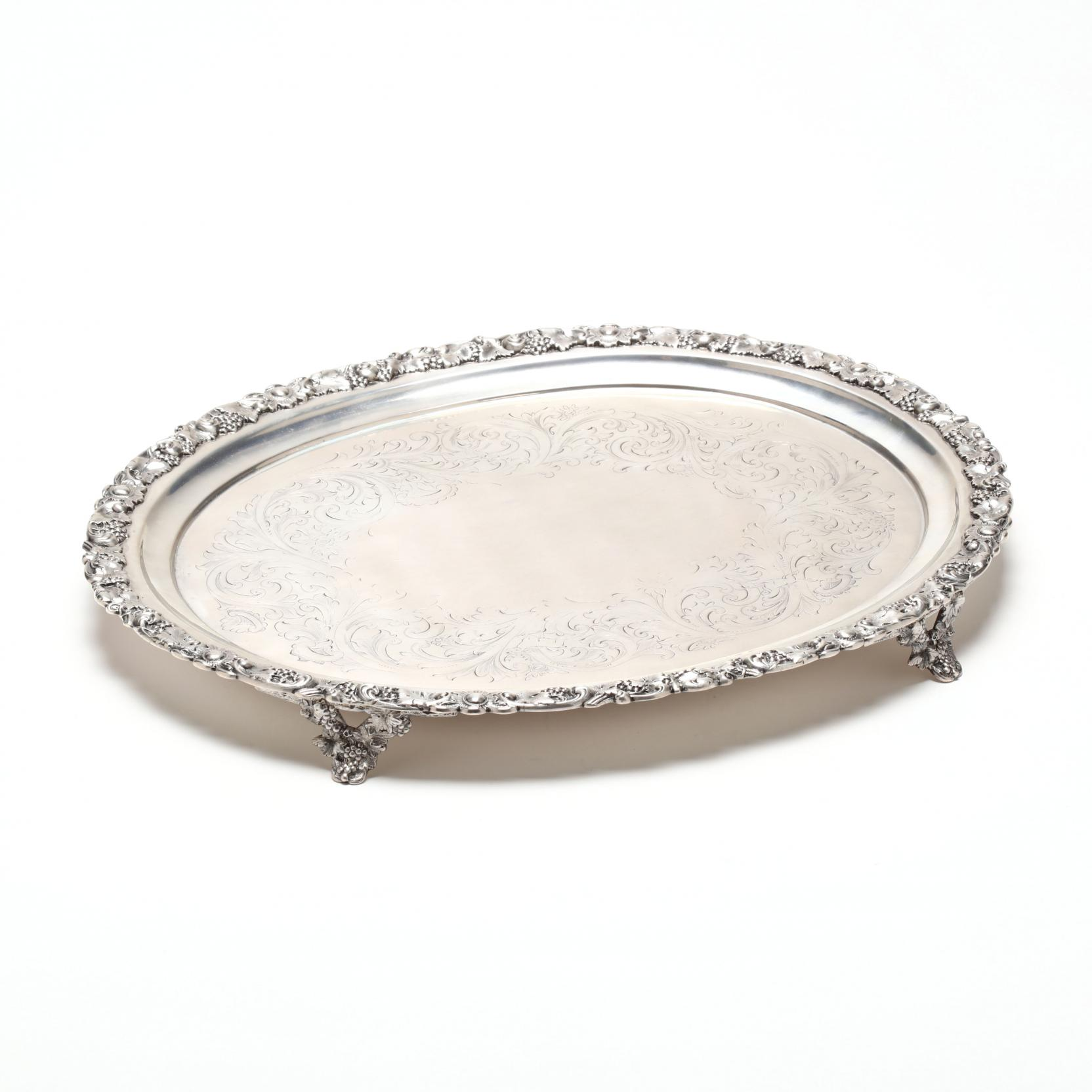 a-large-american-coin-silver-footed-tray
