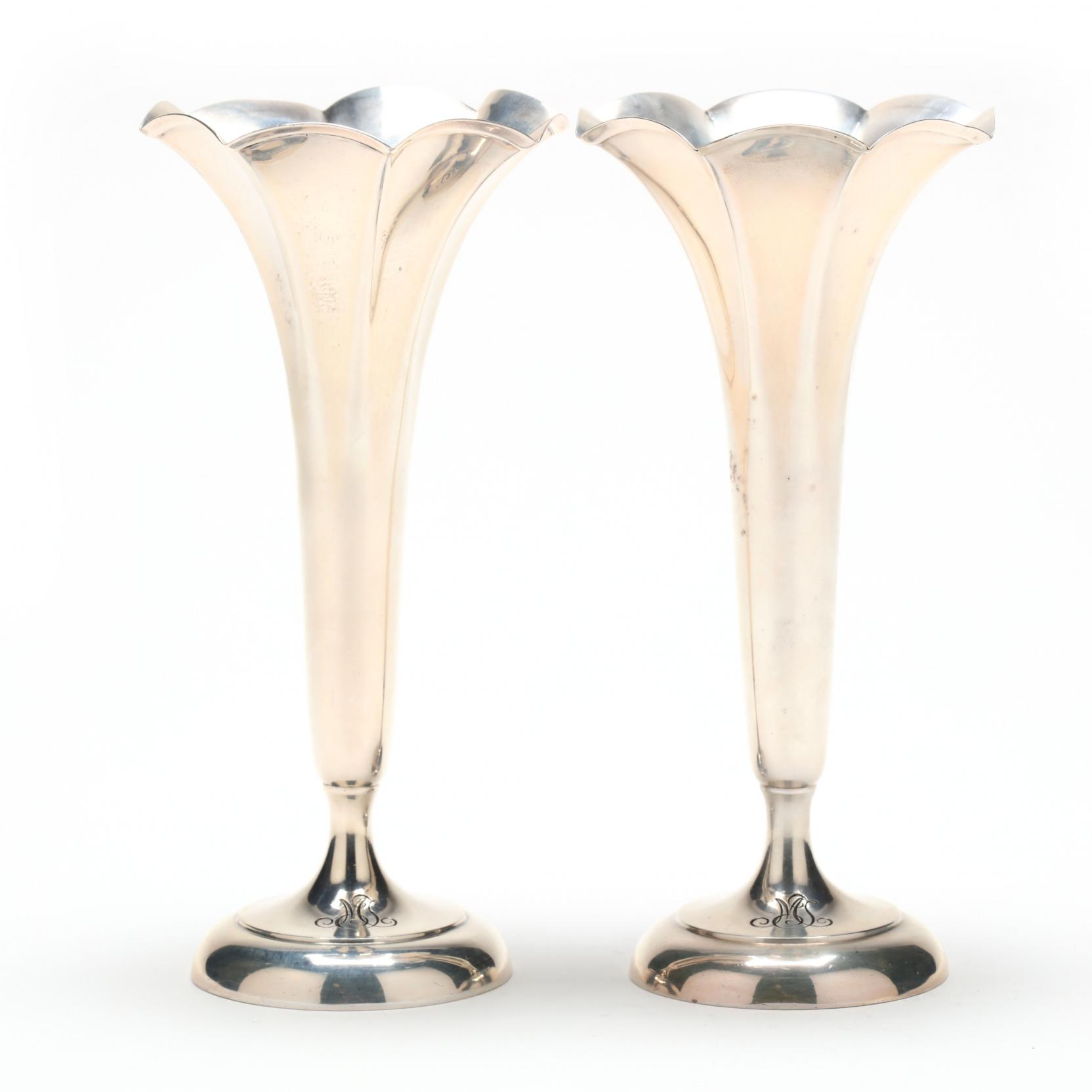pair-of-tiffany-co-sterling-silver-trumpet-vases