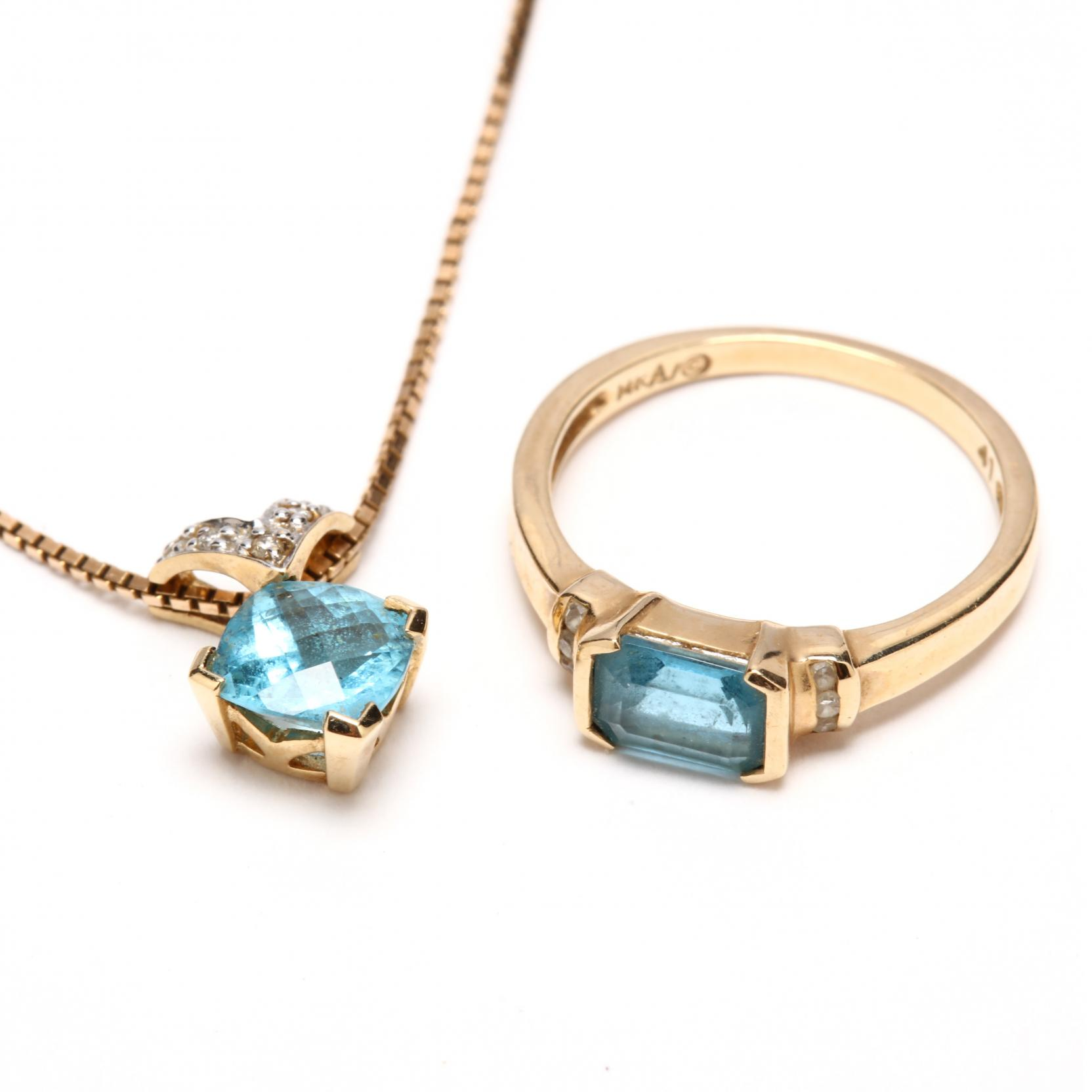 14kt-blue-topaz-and-diamond-pendant-necklace-and-ring