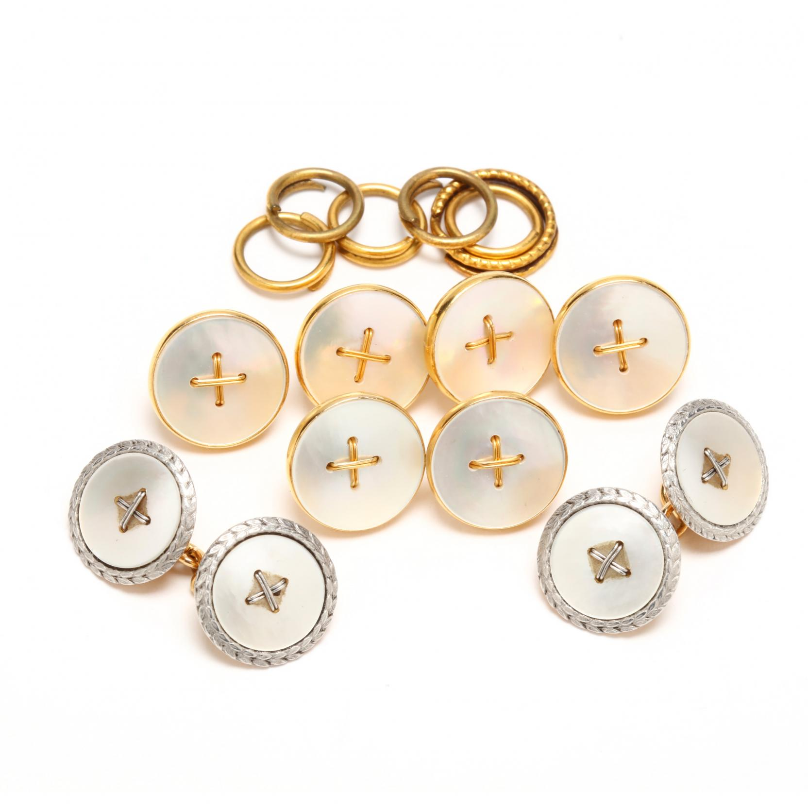 18kt-mother-of-pearl-cufflink-and-stud-sets
