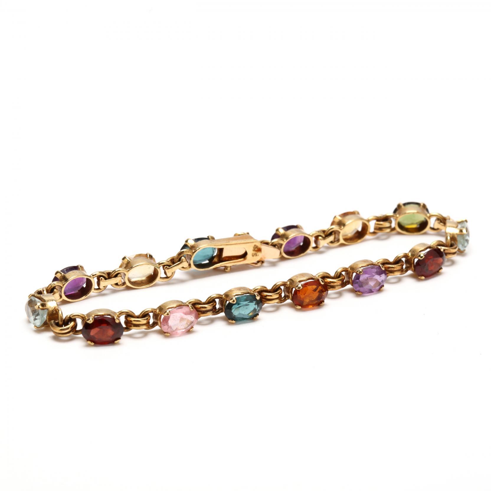 18kt-gem-set-bracelet
